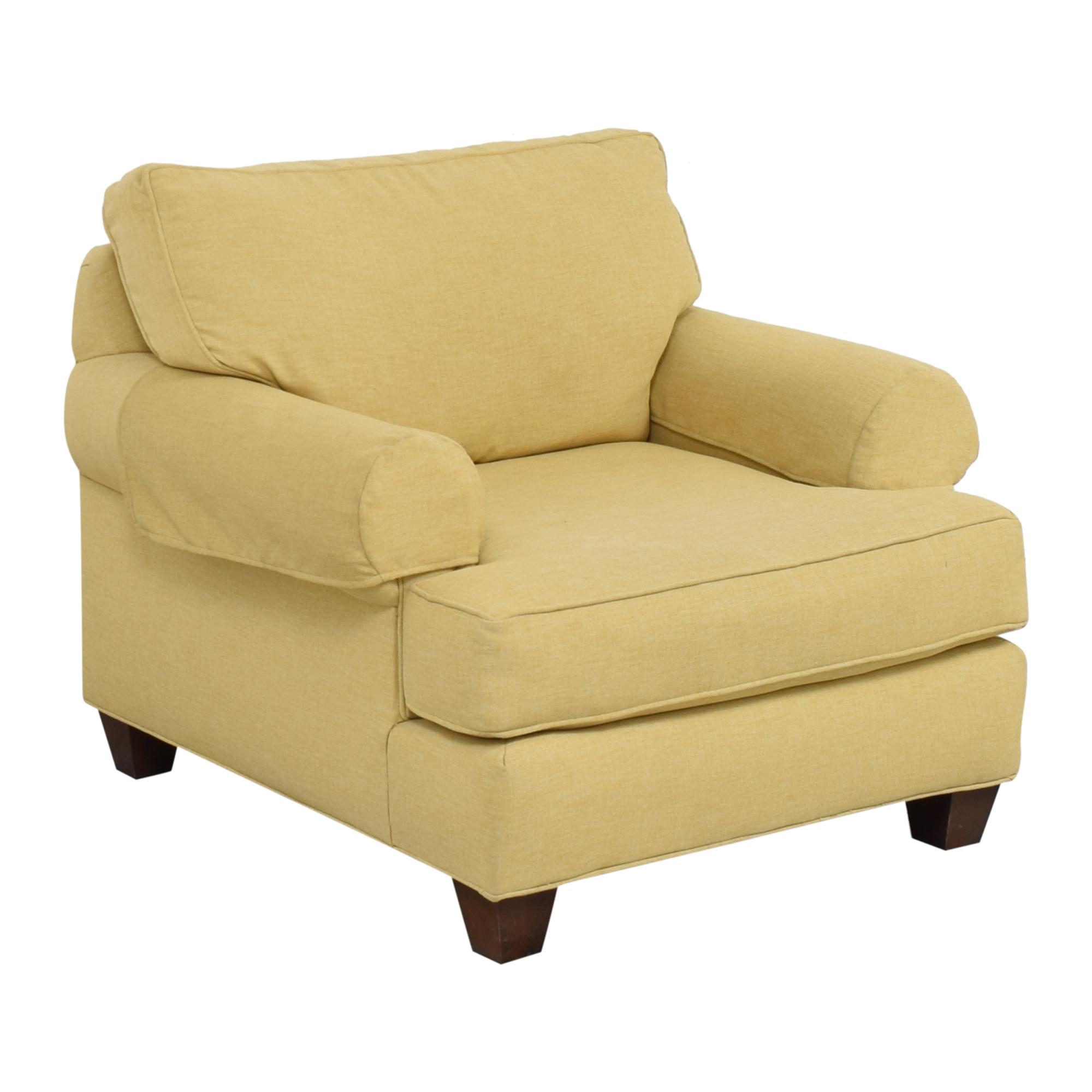 Craftmaster Furniture Craftmaster Furniture Townhouse Armchair yellow