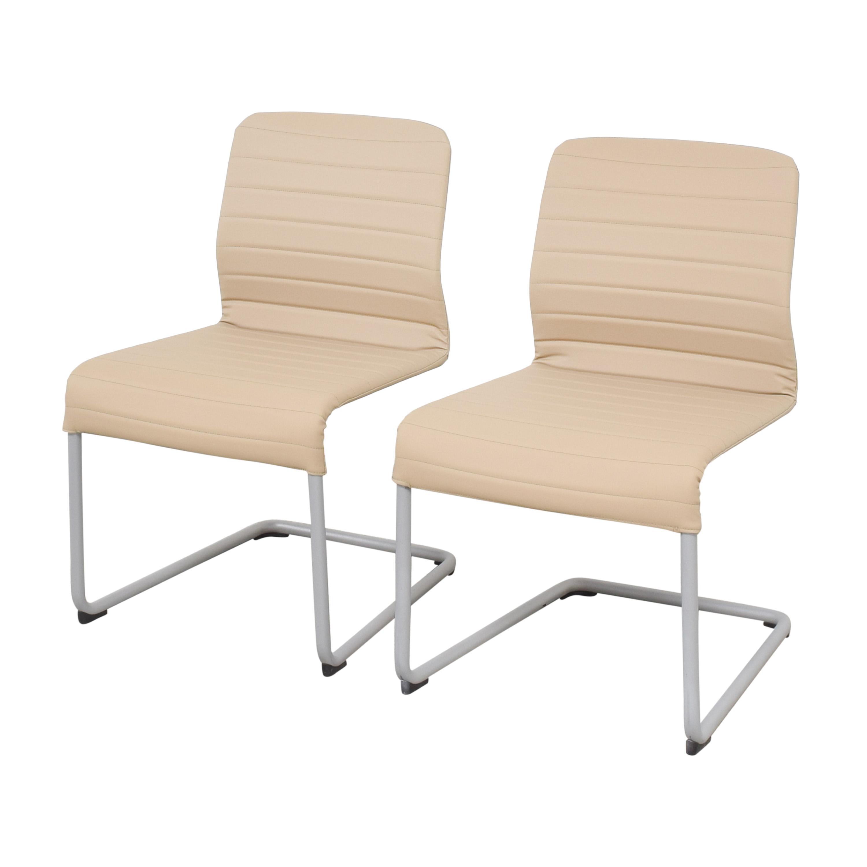 buy Global Furniture Group Lite Cantilever Frame Side Chairs Global Furniture Group