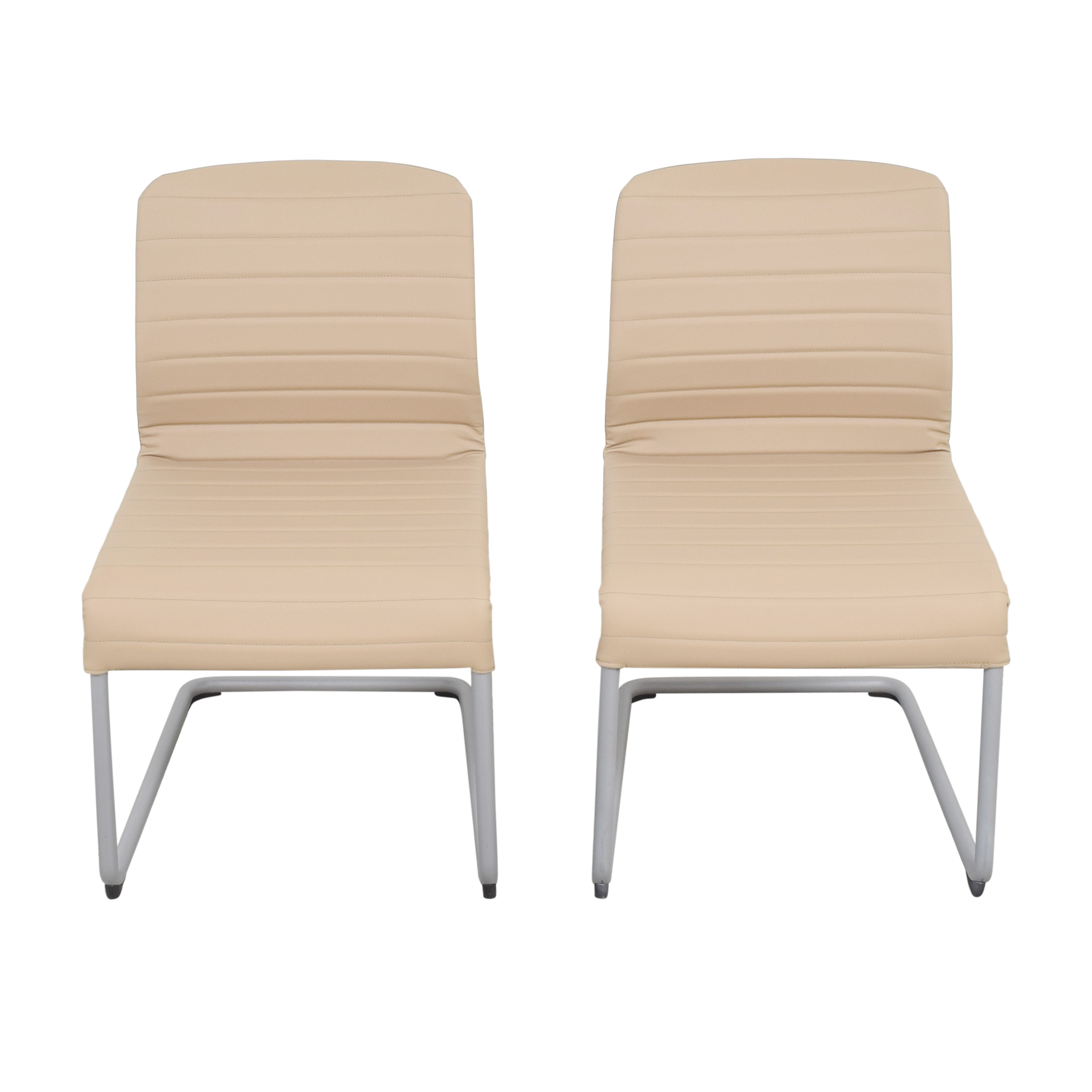 Global Furniture Group Global Furniture Group Lite Cantilever Frame Side Chairs nyc