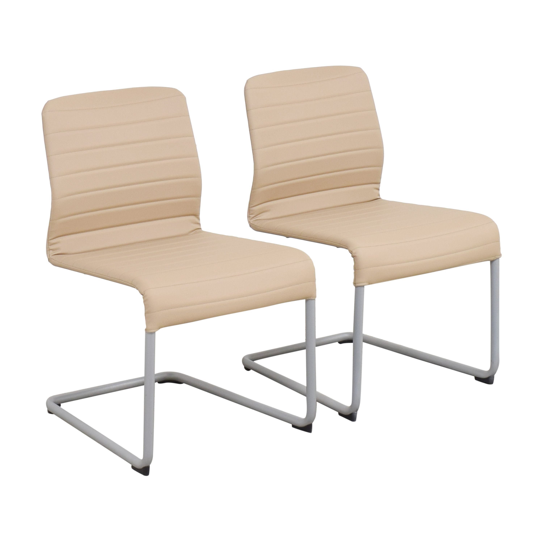 buy Global Furniture Group Lite Cantilever Frame Side Chairs Global Furniture Group Chairs