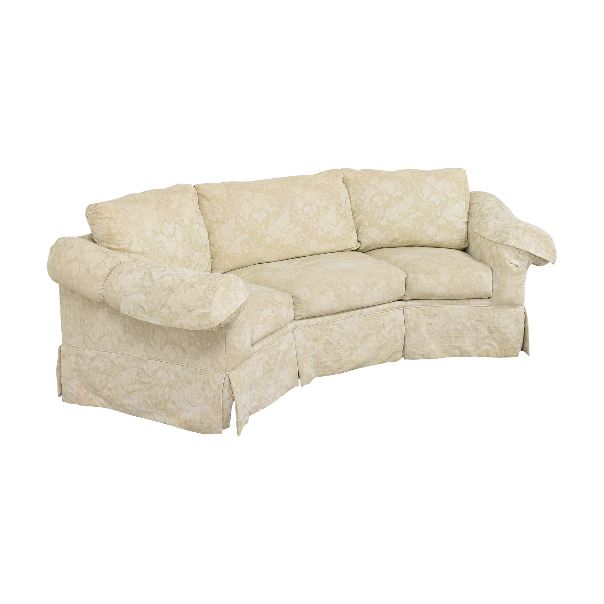 Rowe Furniture Rowe Furniture Skirted Crescent Sofa price