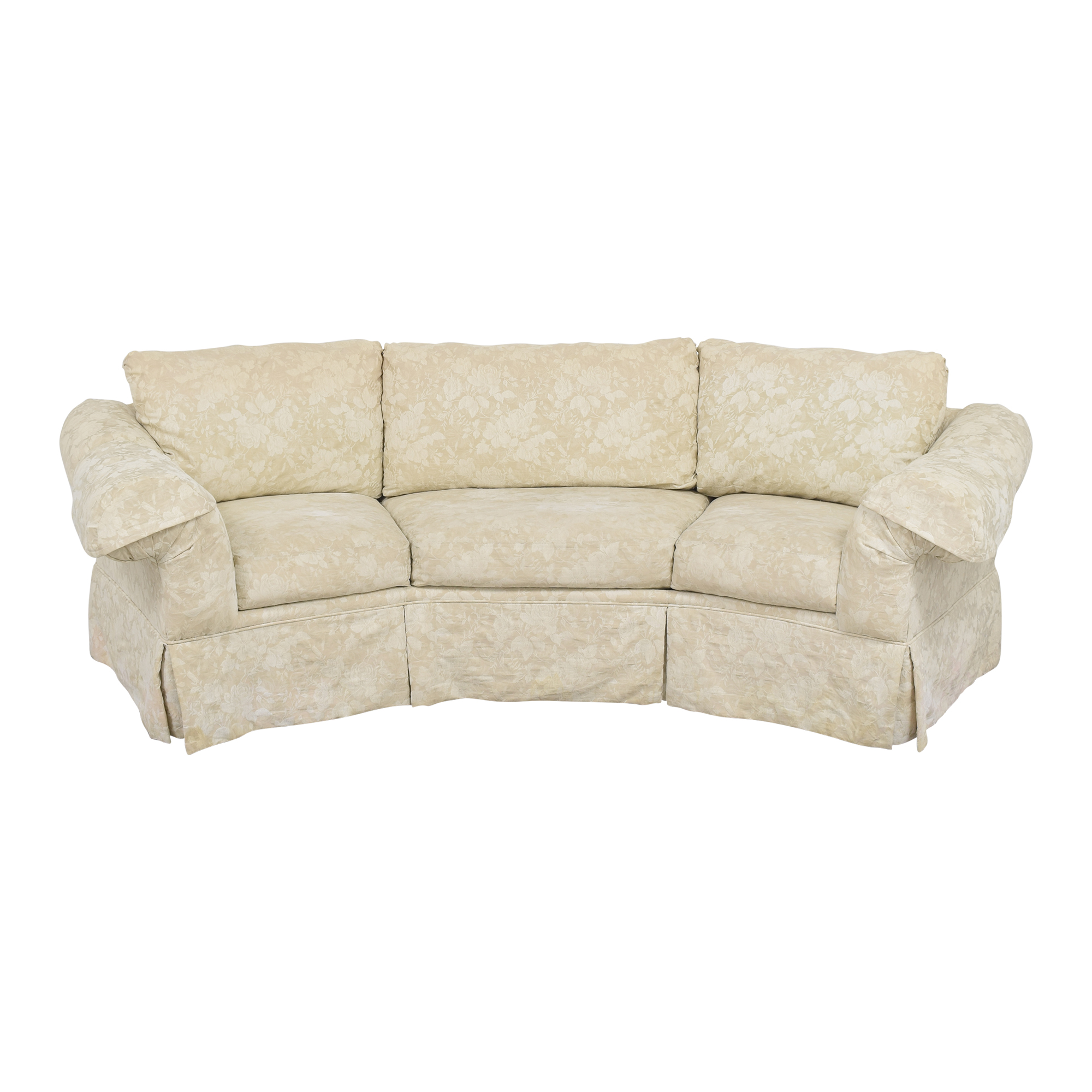 buy Rowe Furniture Rowe Furniture Skirted Crescent Sofa online