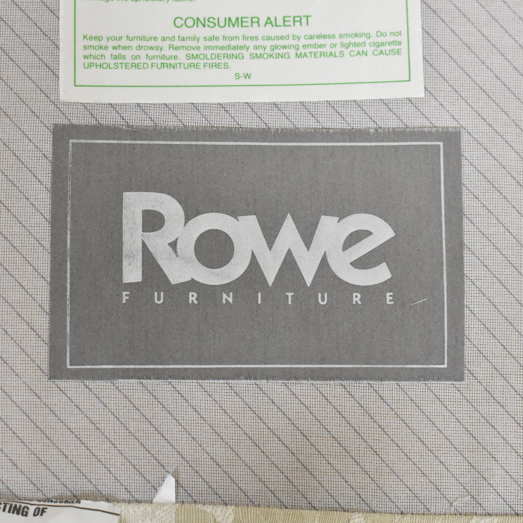 buy Rowe Furniture Skirted Crescent Sofa Rowe Furniture Sofas