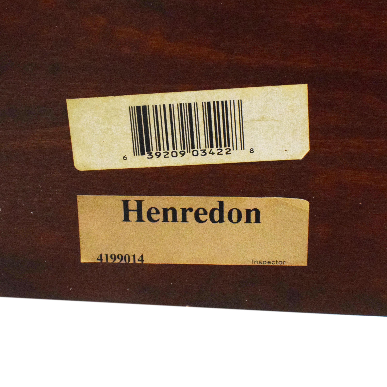 Henredon Furniture Henredon Carved King Bed coupon