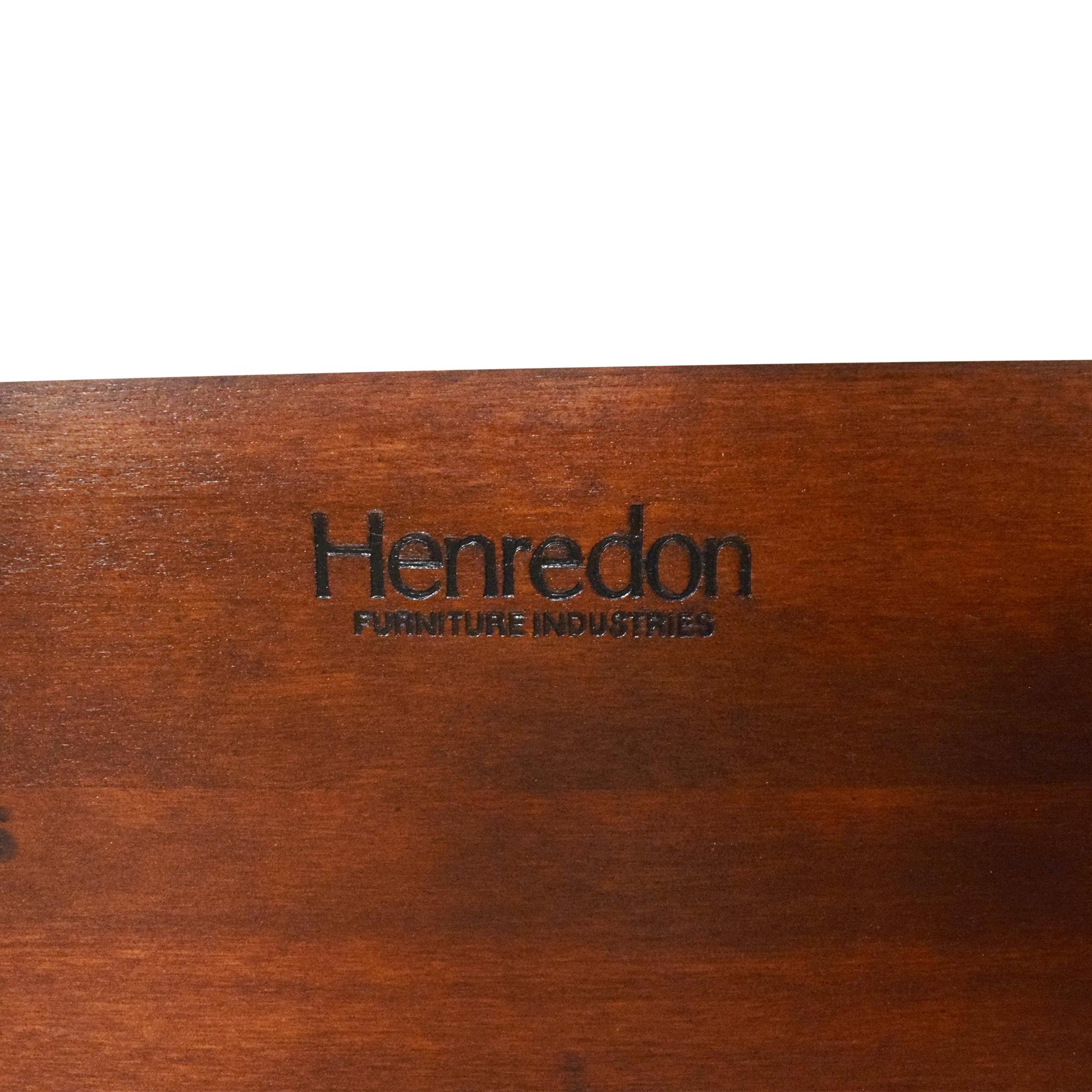 Henredon Furniture Henredon Carved King Bed dimensions