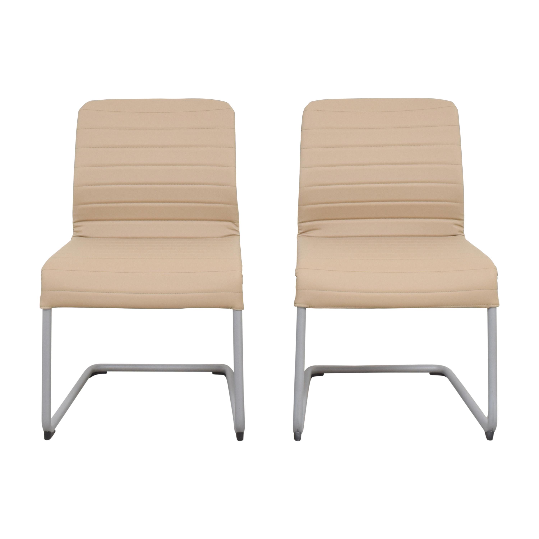 Global Furniture Group Lite Cantilever Frame Side Chairs Global Furniture Group