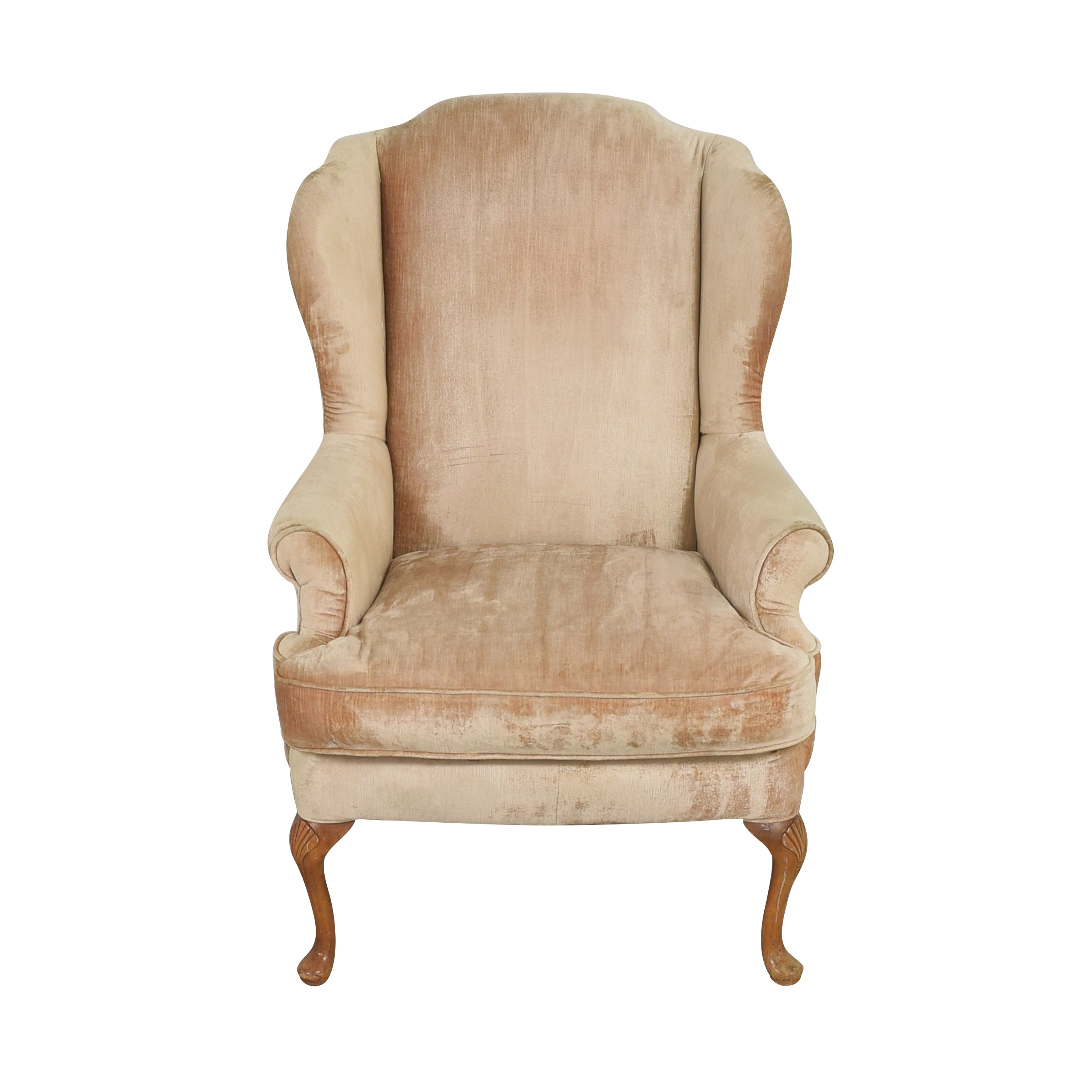 Queen Anne Wing Back Chair / Accent Chairs