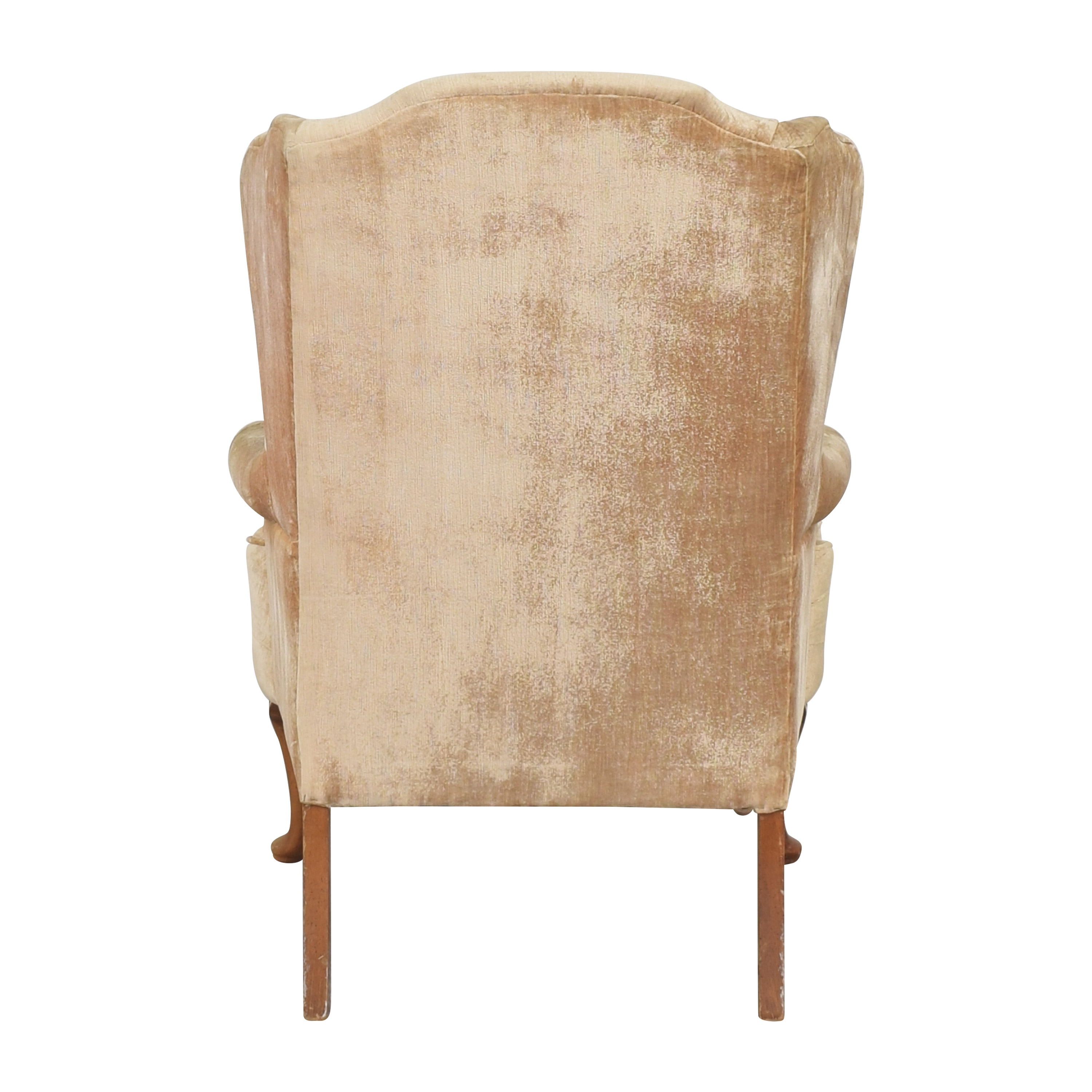 Queen Anne Wing Back Chair ct