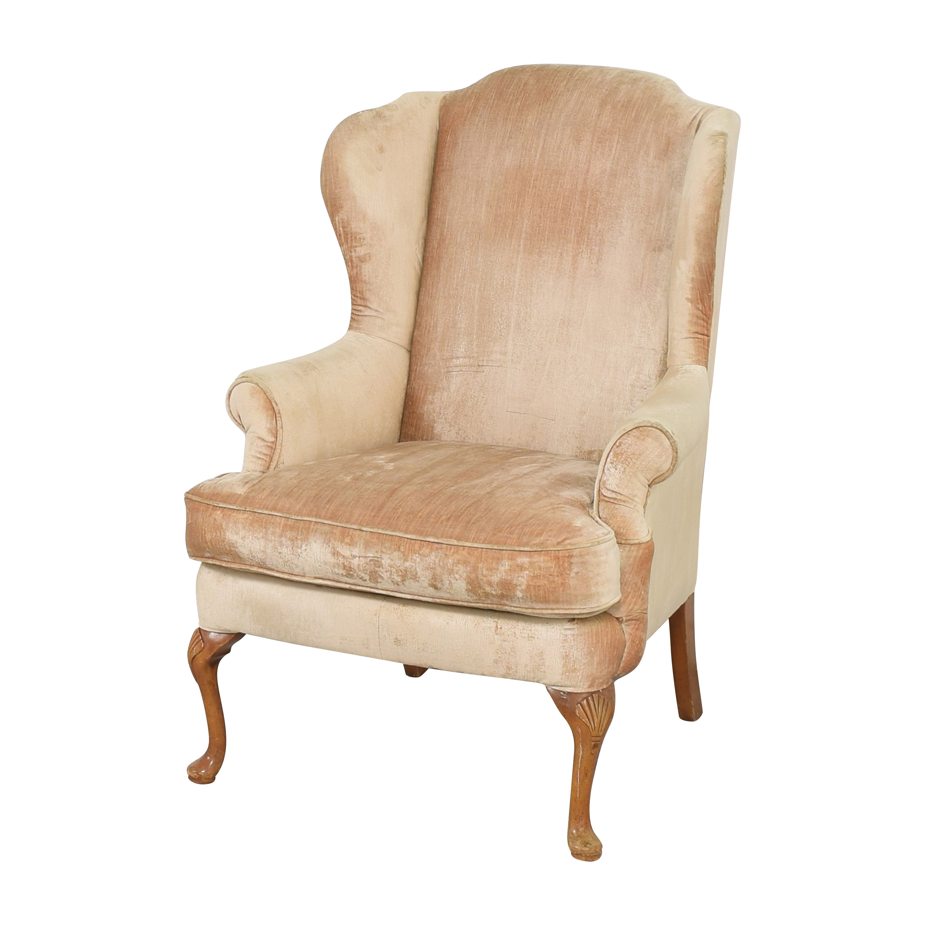 buy  Queen Anne Wing Back Chair online