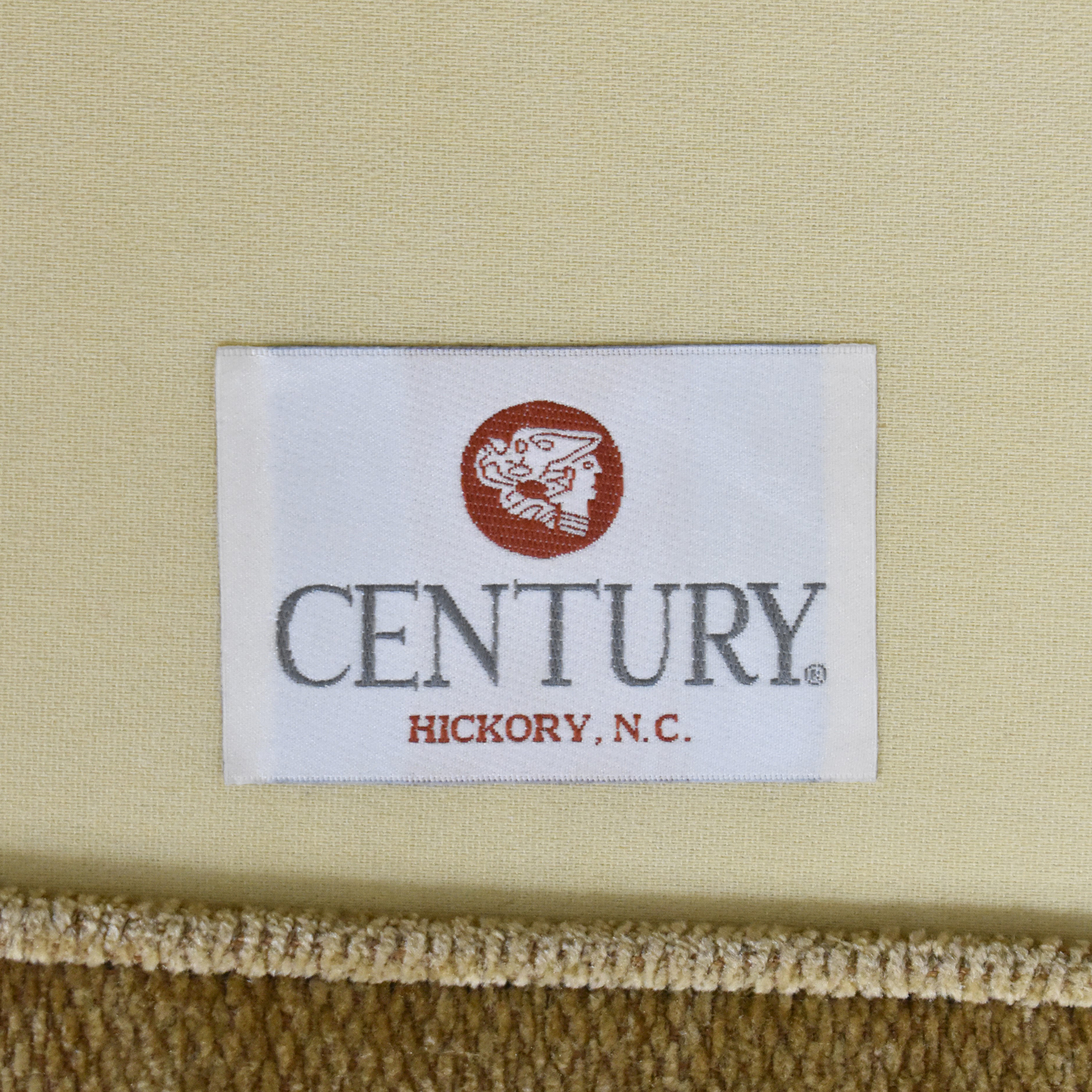 Century Furniture Century Furniture Roll Arm Skirted Sofa for sale