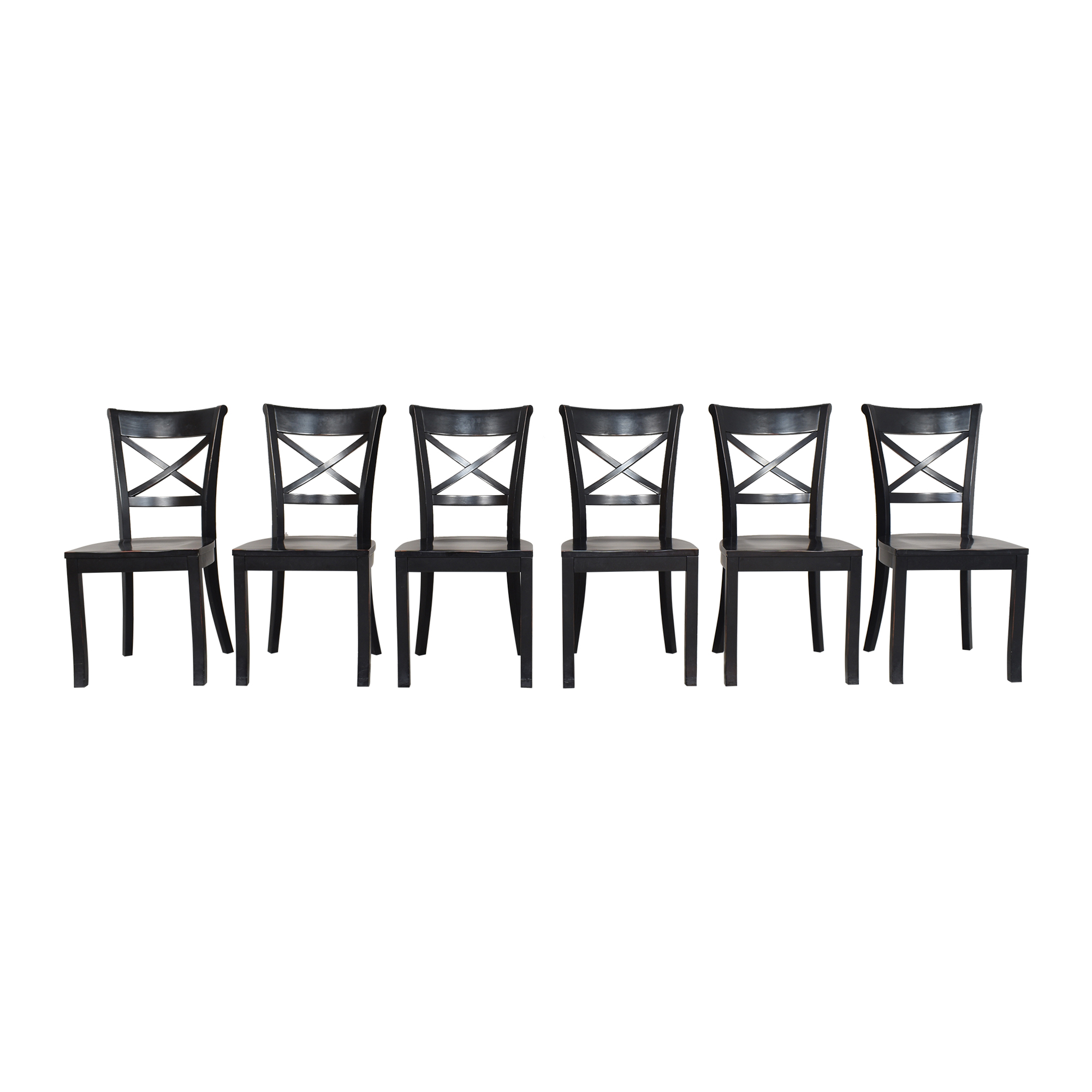 buy Crate & Barrel Vintner X Back Dining Chairs Crate & Barrel Chairs