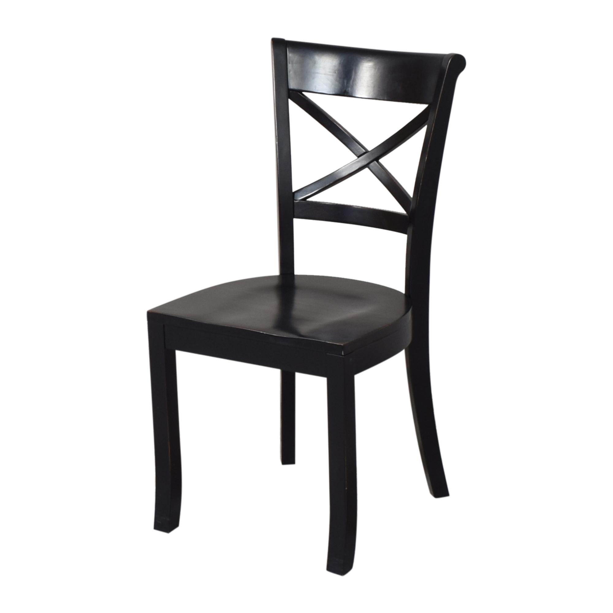 Crate & Barrel Crate & Barrel Vintner X Back Dining Chairs