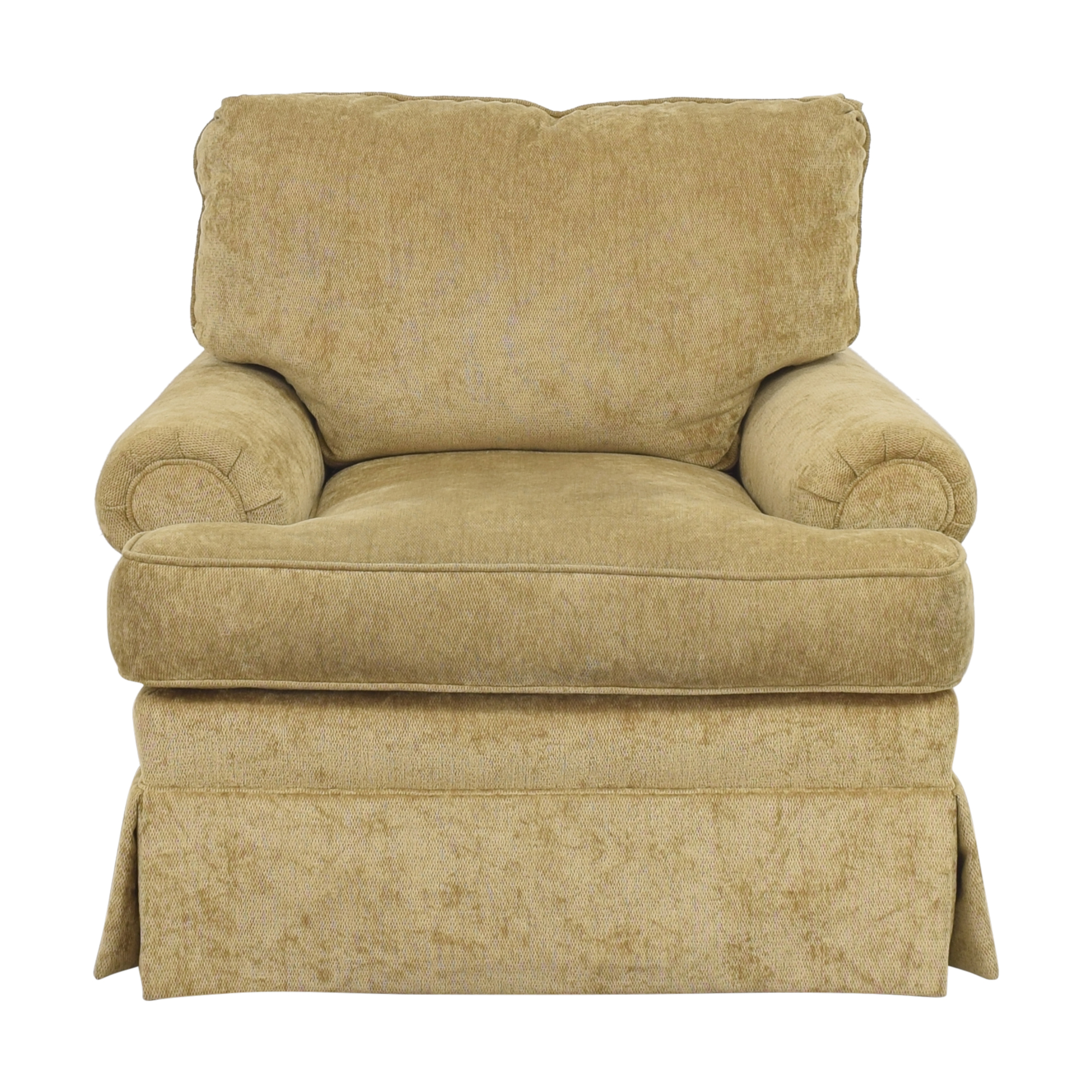 buy Century Furniture Century Furniture Roll Arm Swivel Chair online