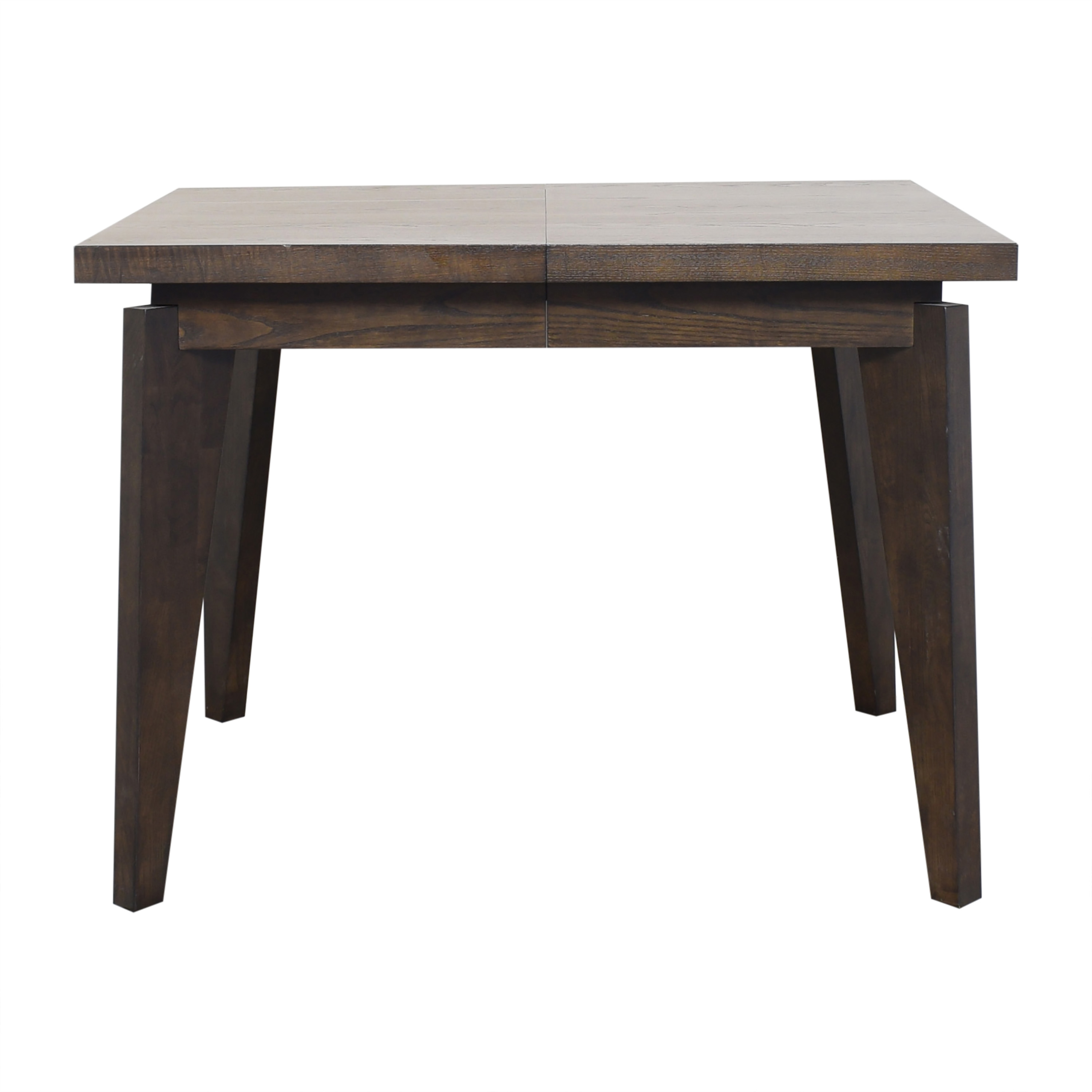 West Elm Angled Leg Expandable Dining Table West Elm