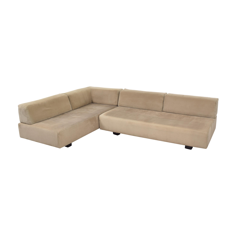 West Elm Tillary Sectional Sofa sale