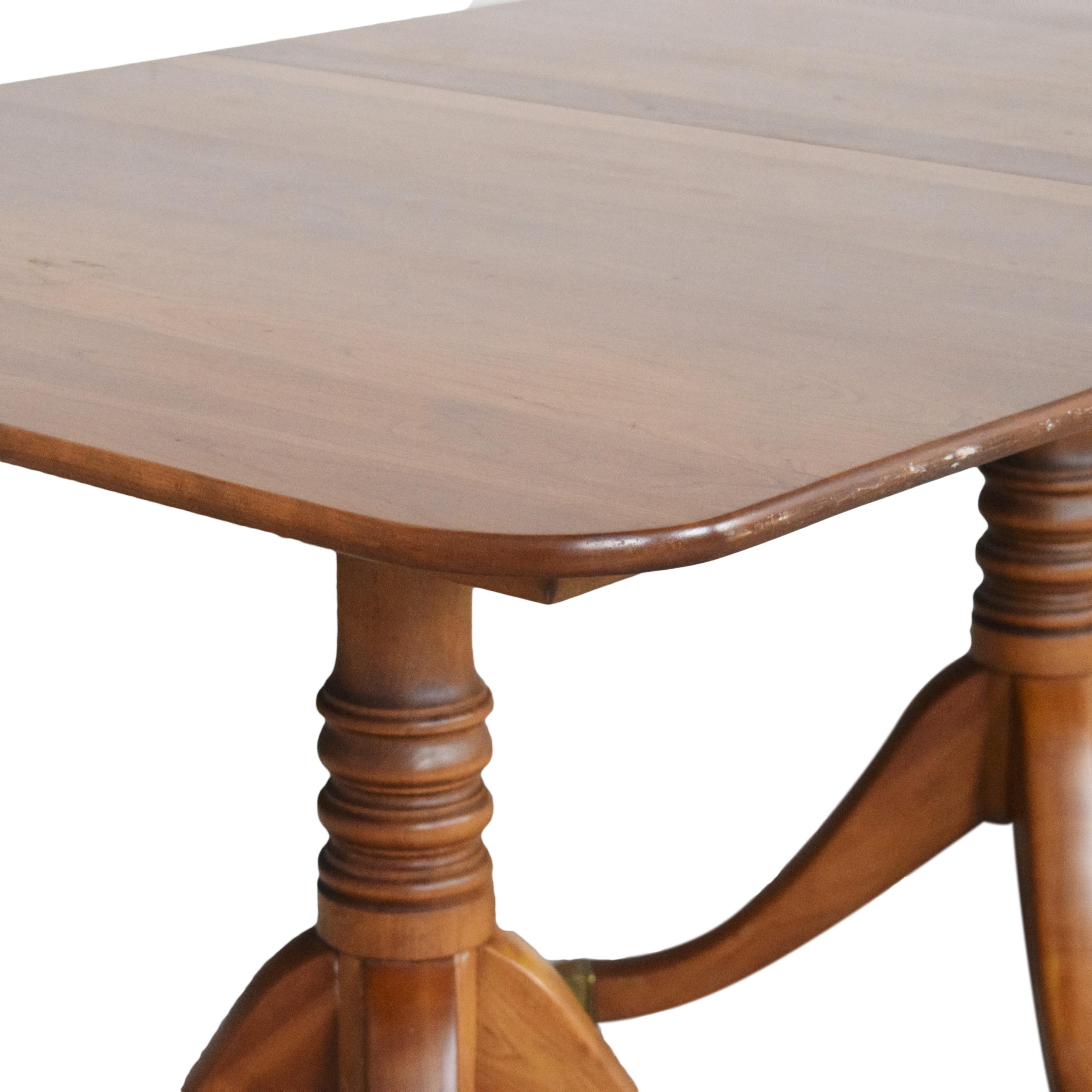 72 Off Stickley Furniture Stickley Furniture Double Pedestal Extendable Dining Table Tables
