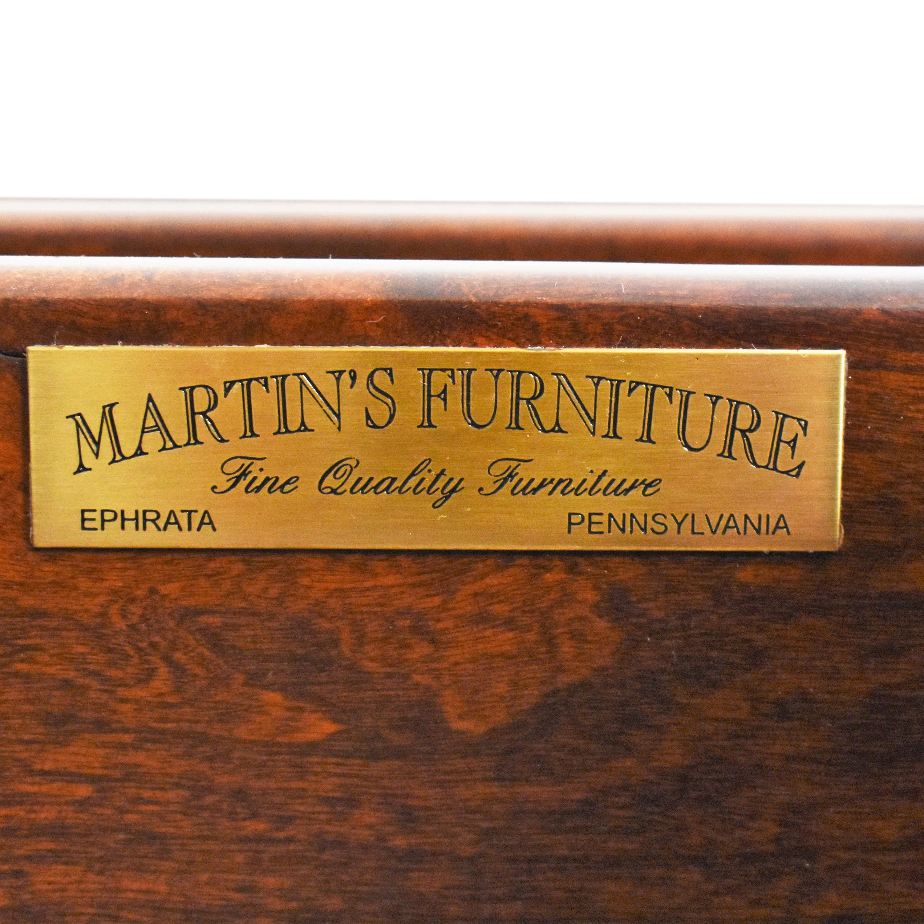 shop Martin's Furniture Venetian Court Triple Dresser Martin's Furniture