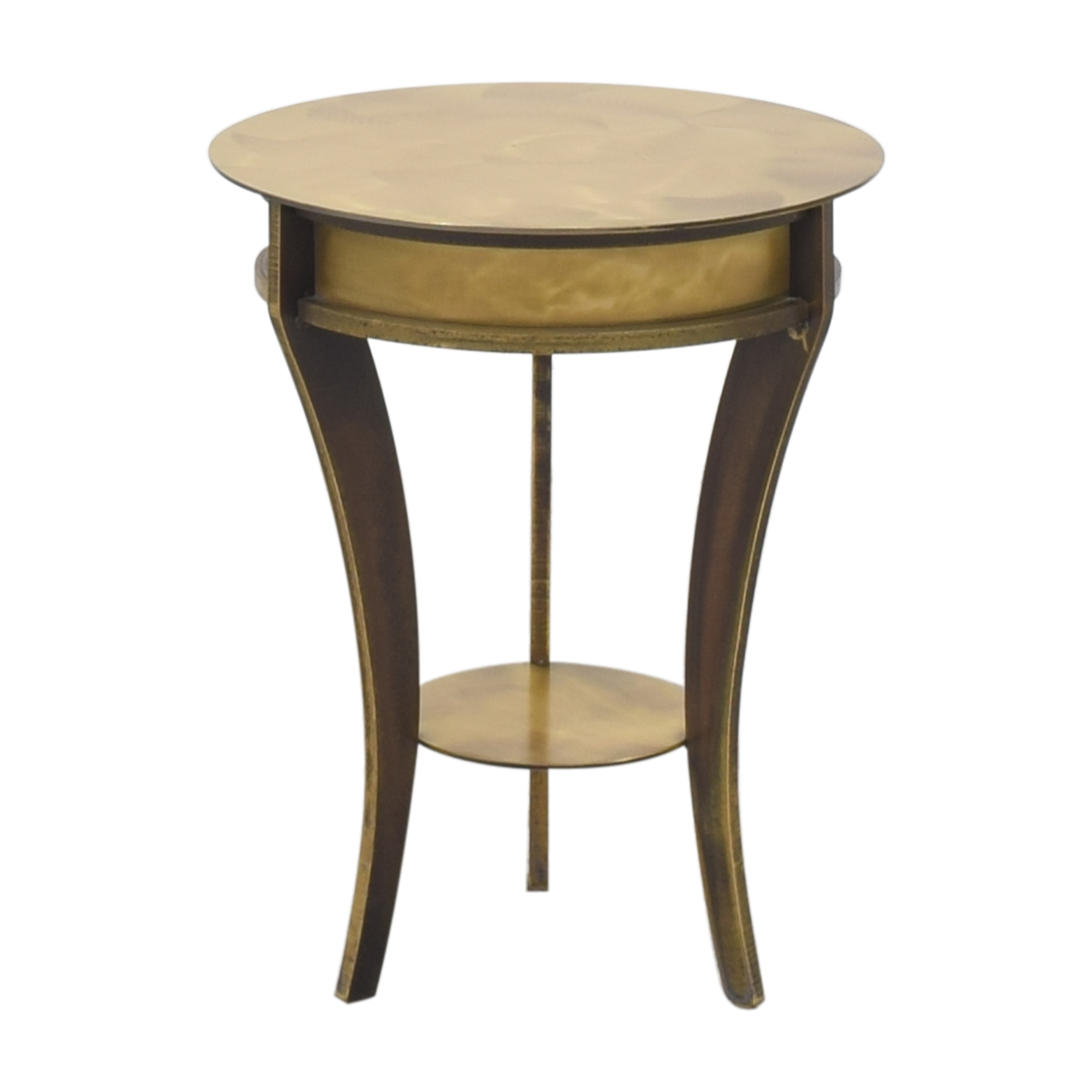 Vintage Round End Table sale