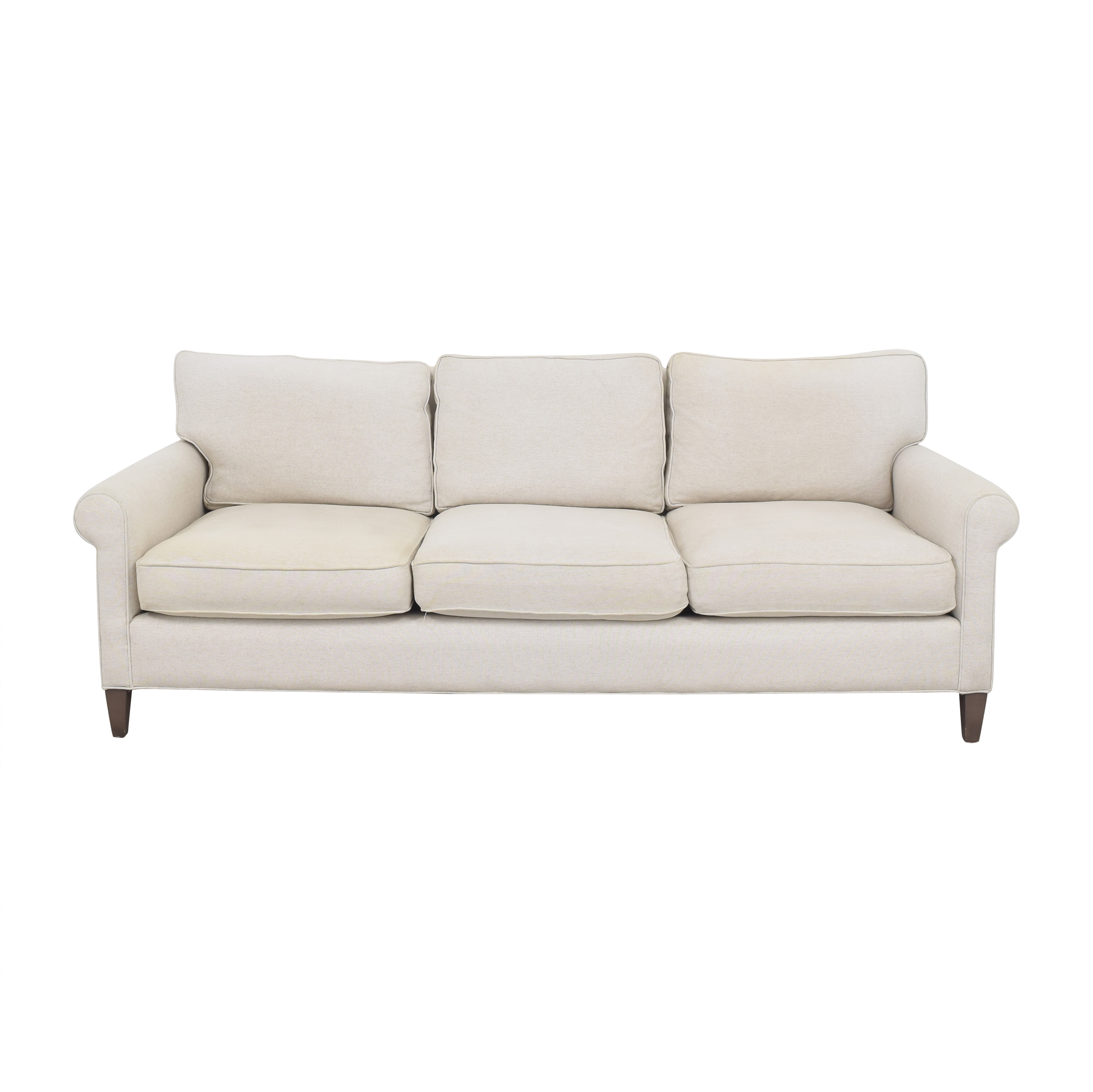 Crate & Barrel Crate & Barrel Montclair Three Cushion Sofa nyc