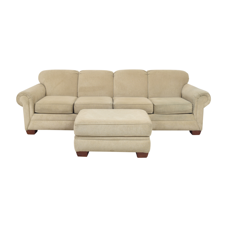 England Furniture England Furniture Monroe Sectional Sofa with Ottoman price