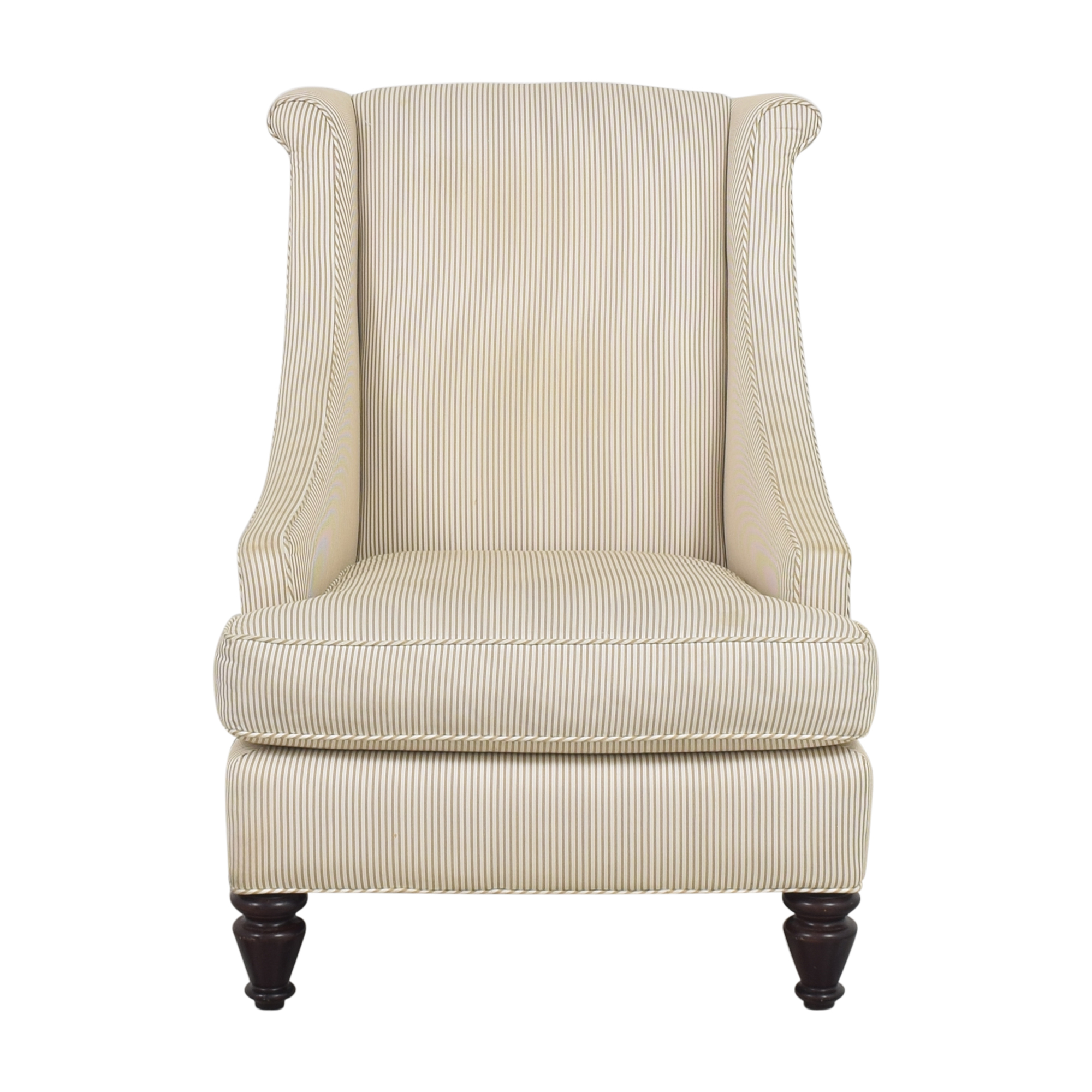 Mitchell Gold + Bob Williams Mitchell Gold + Bob Williams Stripe Accent Chair dimensions