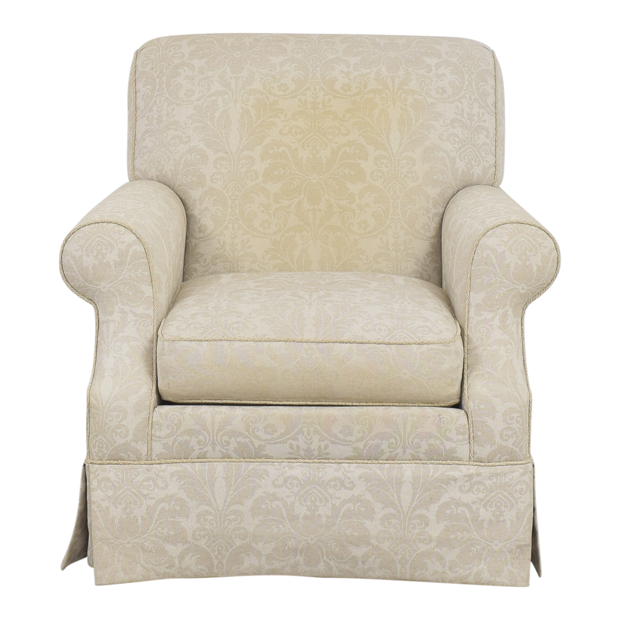 shop Ethan Allen Ethan Allen Damask Accent Chair online