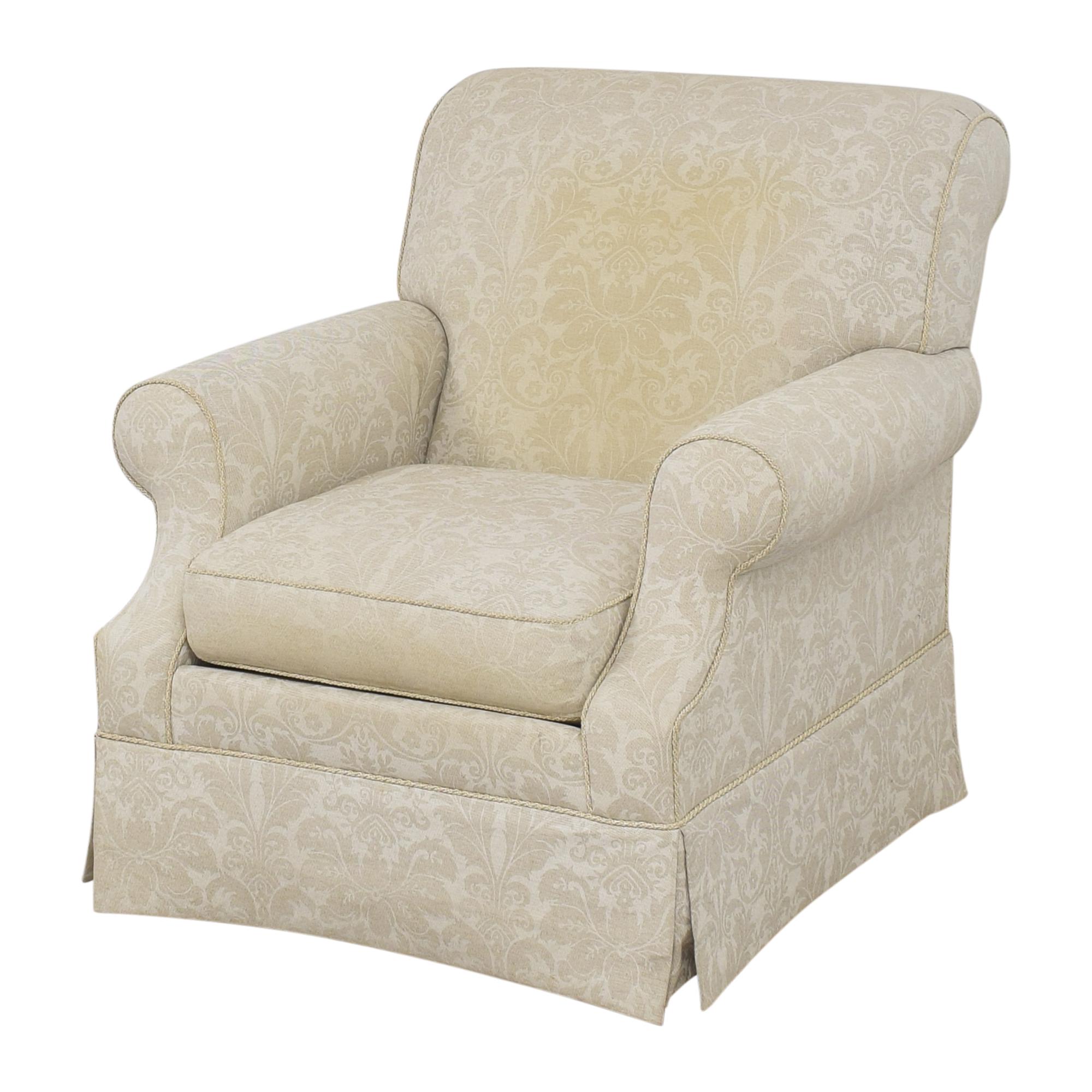 Ethan Allen Ethan Allen Damask Accent Chair pa