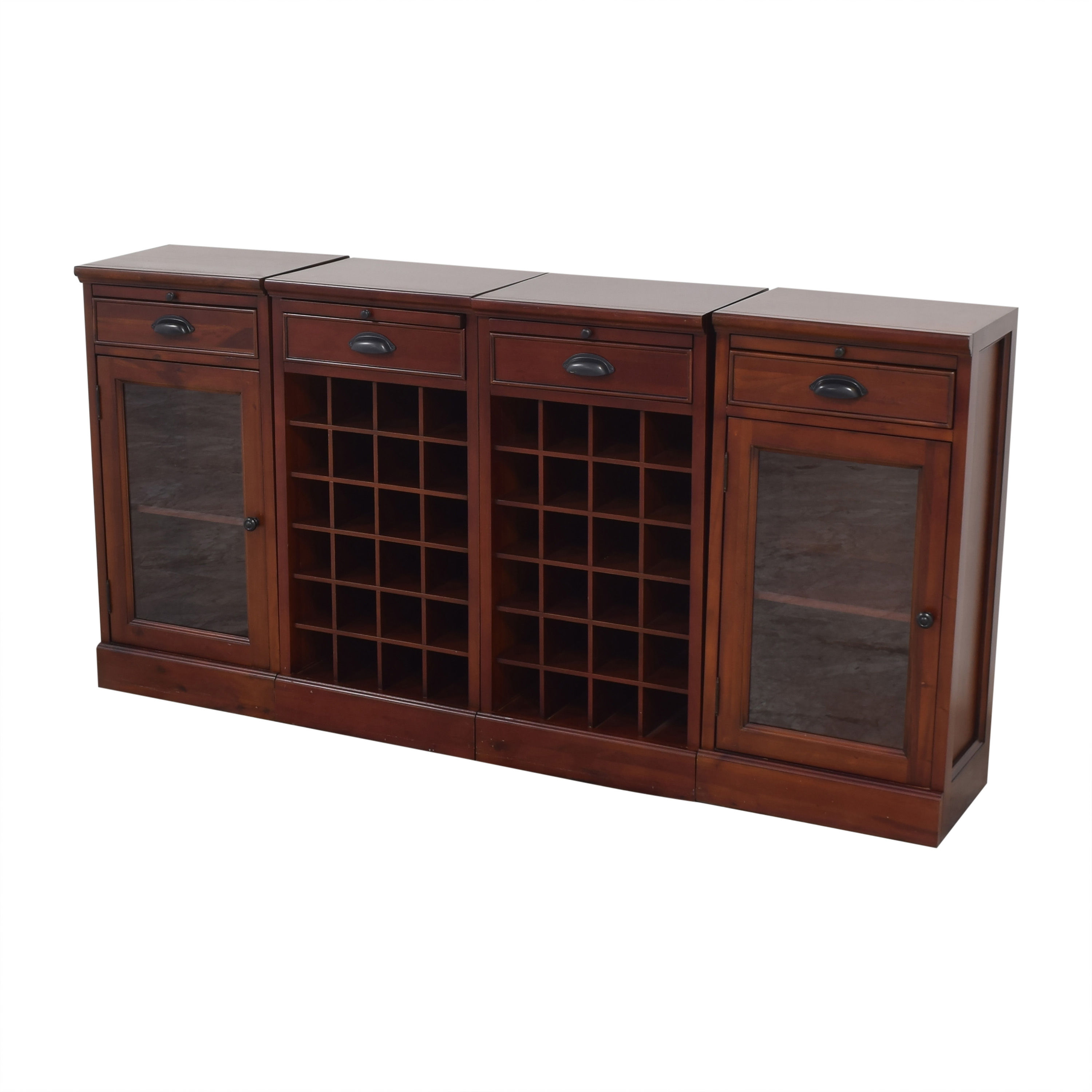 Pottery Barn Pottery Barn Modular Buffet with Double Wine Grid coupon