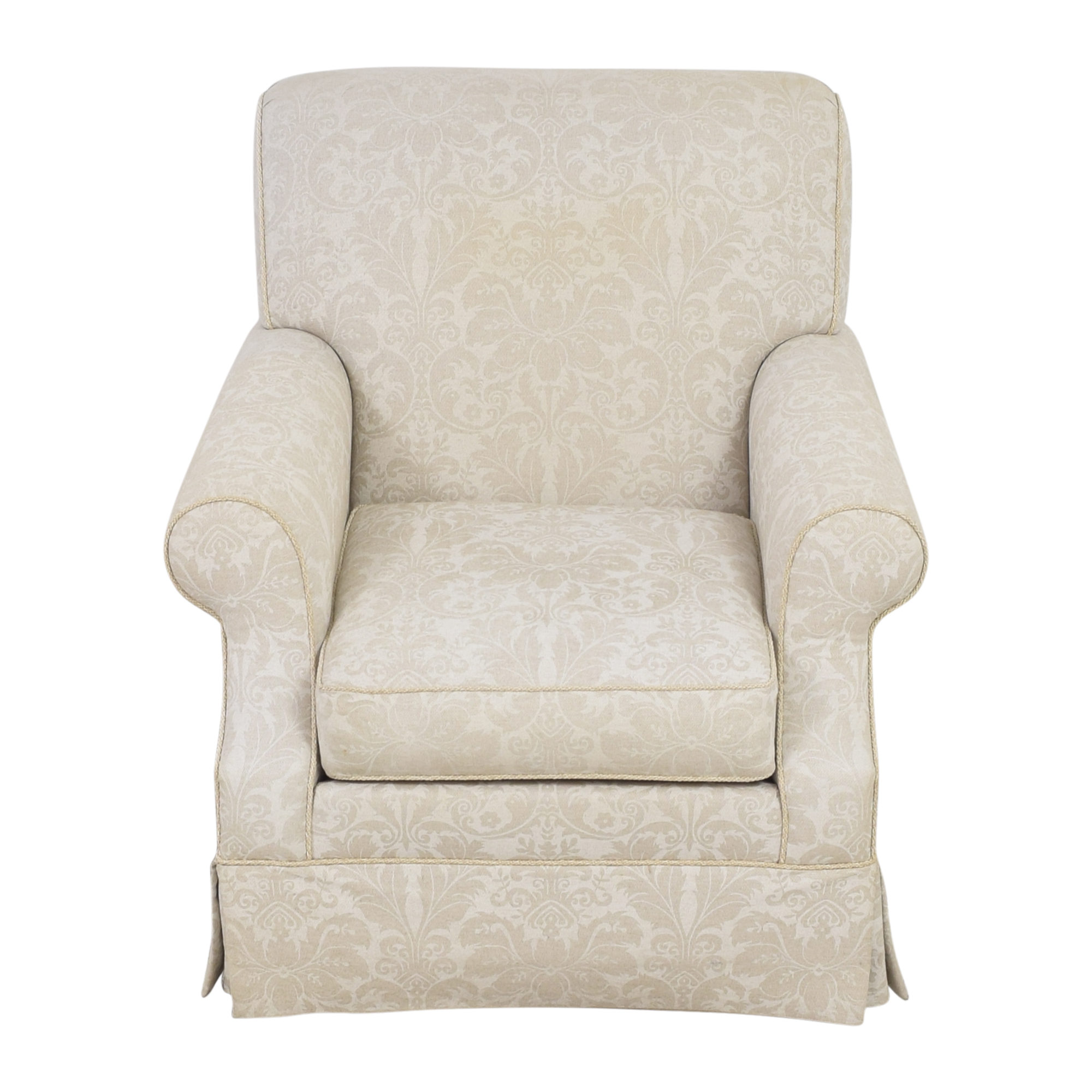 Ethan Allen Ethan Allen Damask Accent Chair used