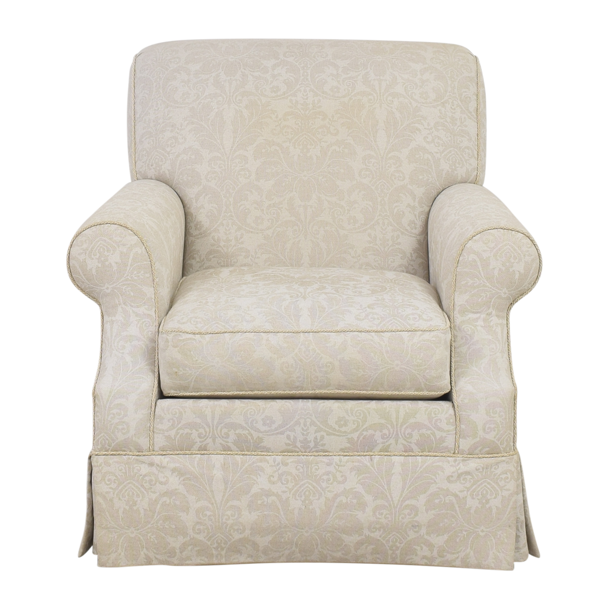 Ethan Allen Ethan Allen Damask Accent Chair nj