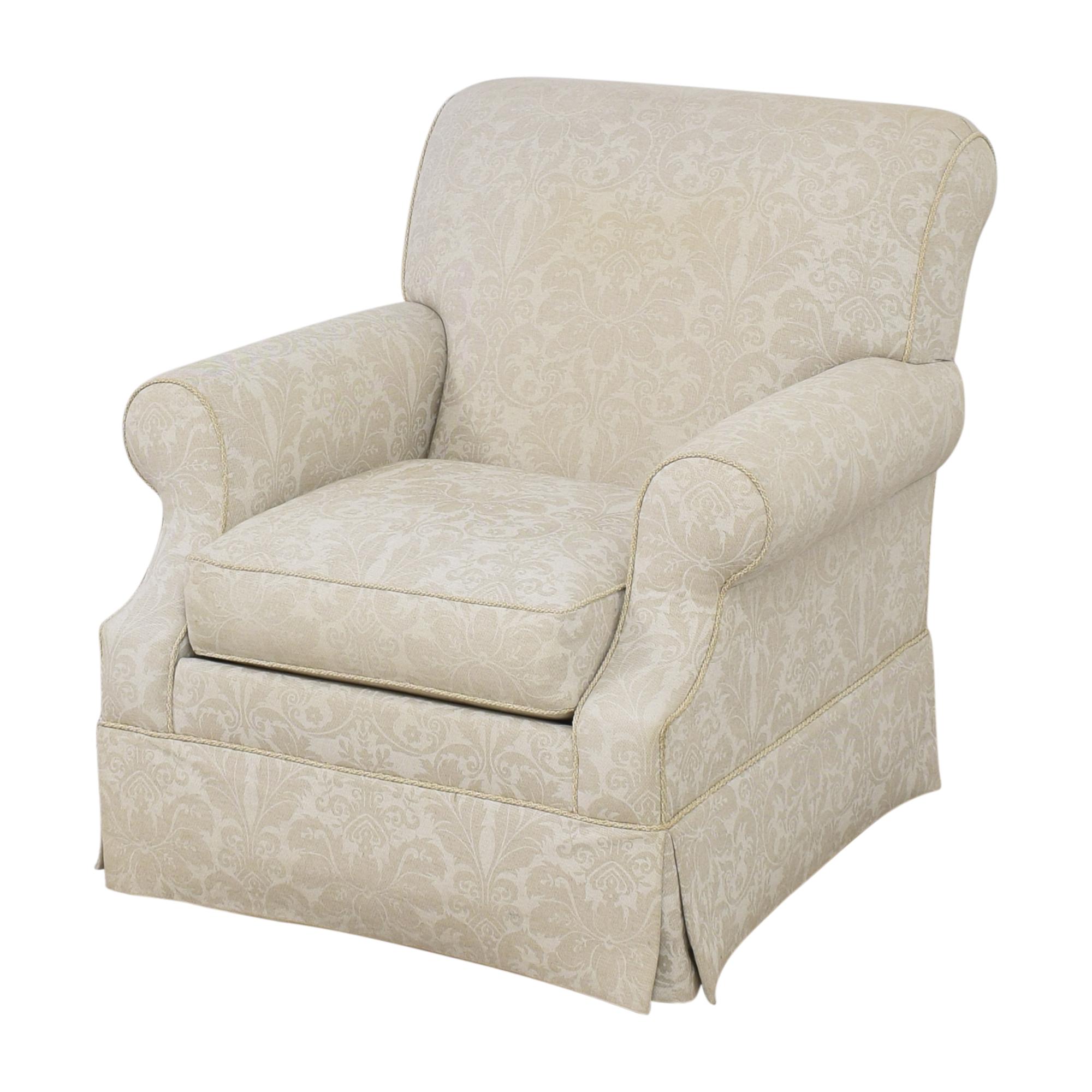 shop Ethan Allen Ethan Allen Damask Accent Chair online