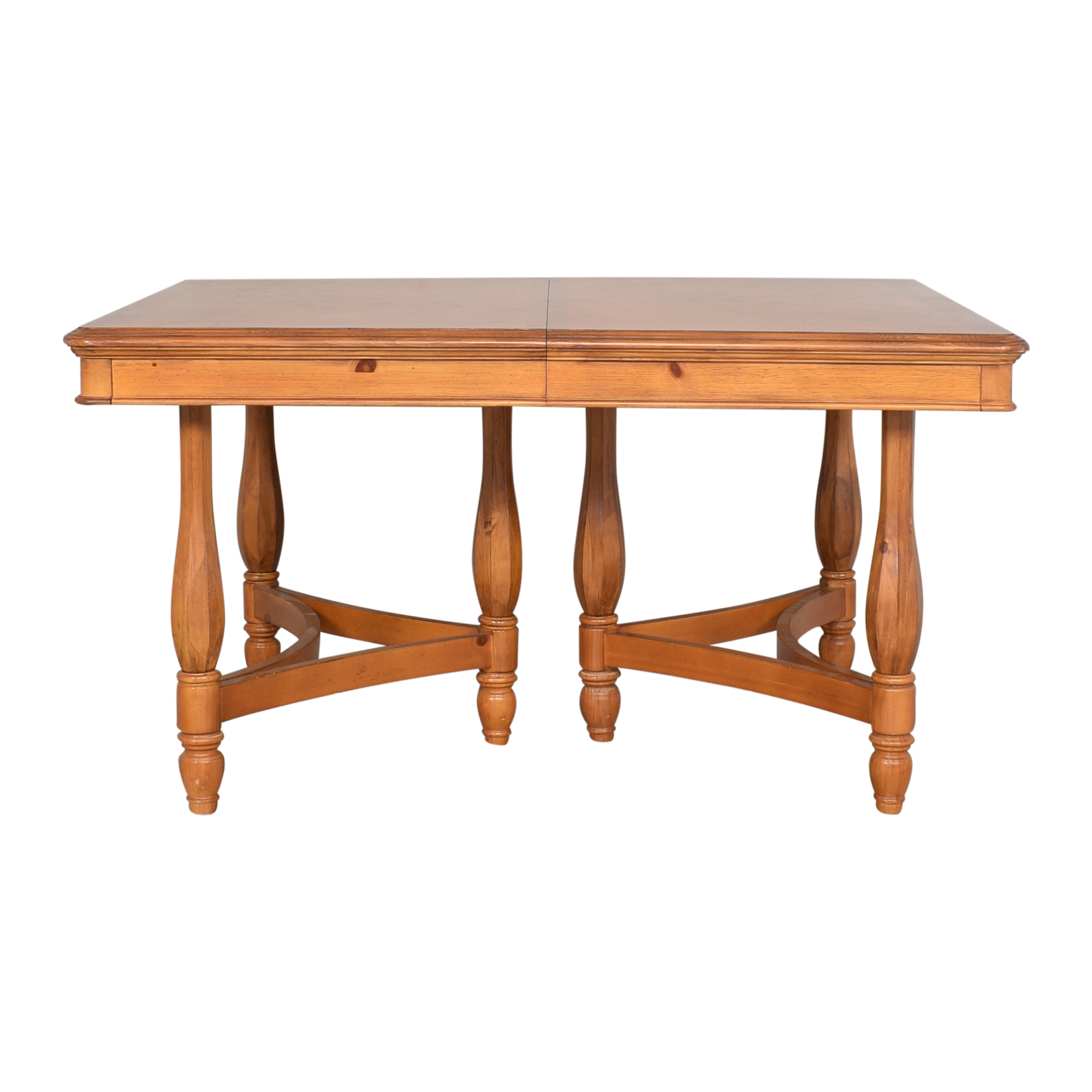buy JC Penney Extendable Farmhouse Style Dining Table JC Penney