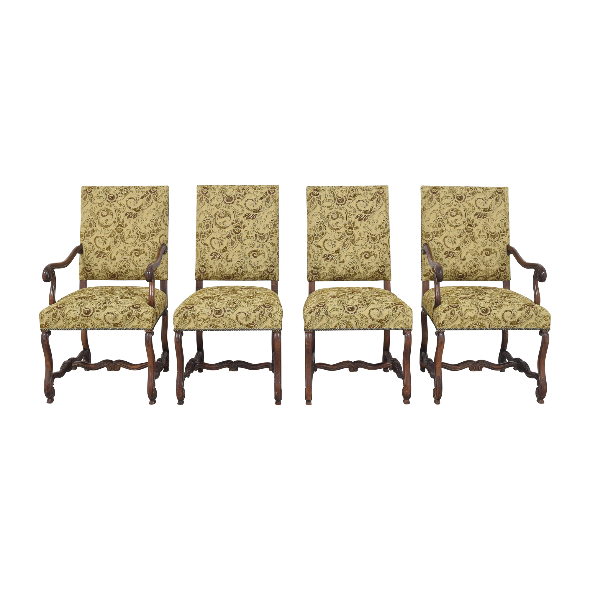 shop Safavieh Safavieh Paisley Upholstered Dining Chairs online