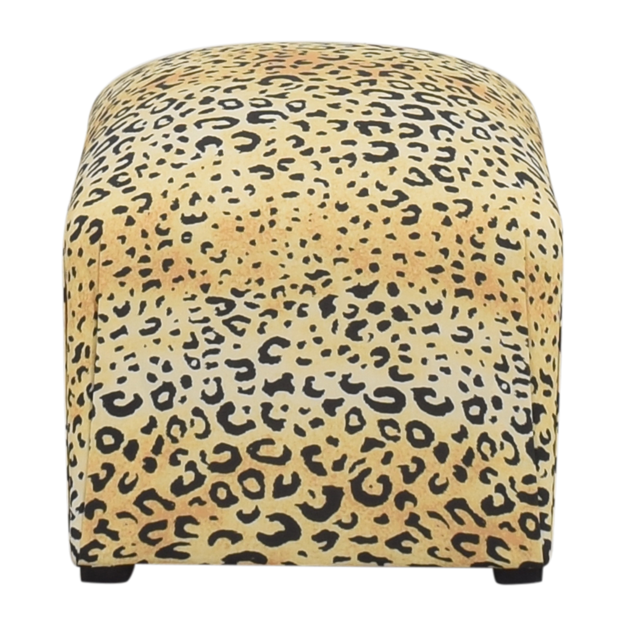 The Inside The Inside Leopard Deco Ottoman ct
