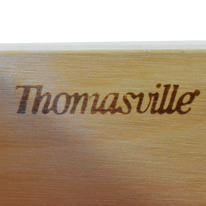 Thomasville Thomasville Eleven Drawer Triple Dresser with Mirror ct