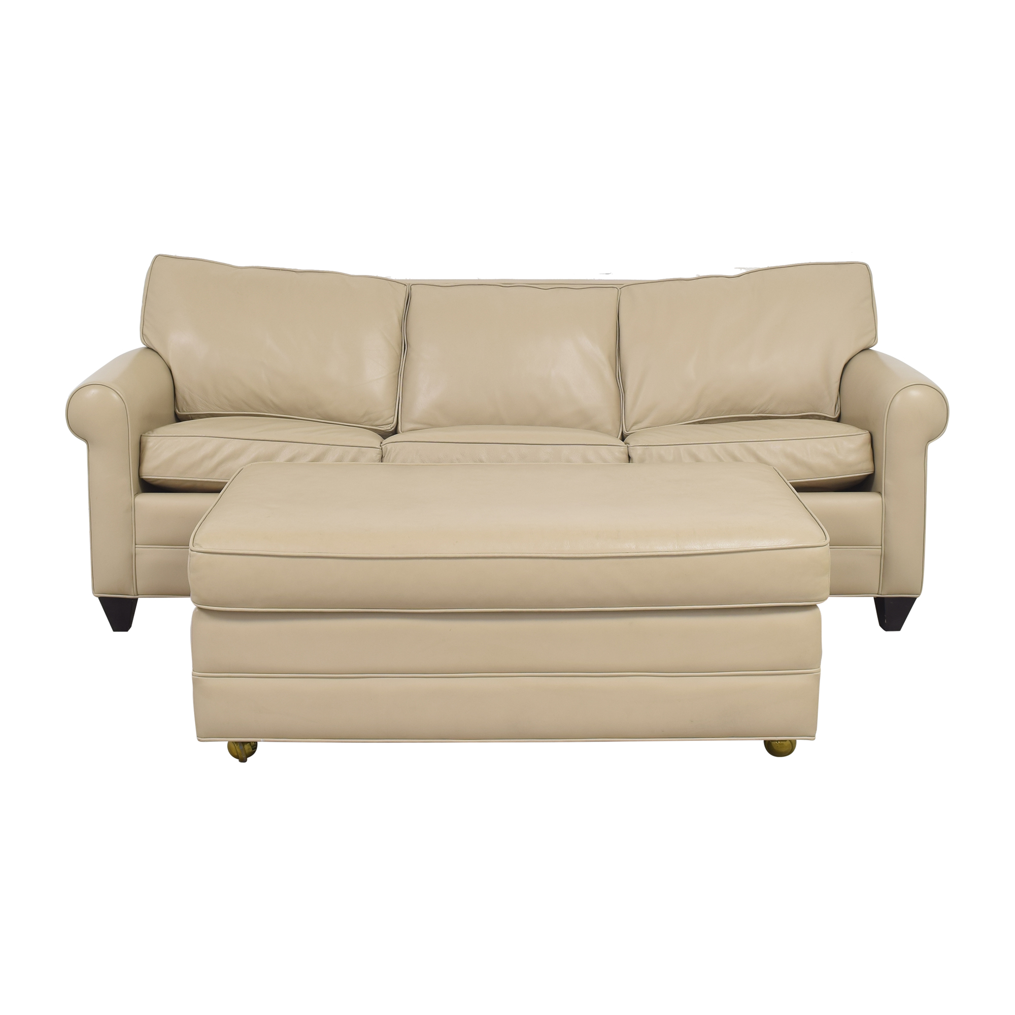 buy Carlyle Sleeper Sofa with Storage Ottoman Carlyle Sofas