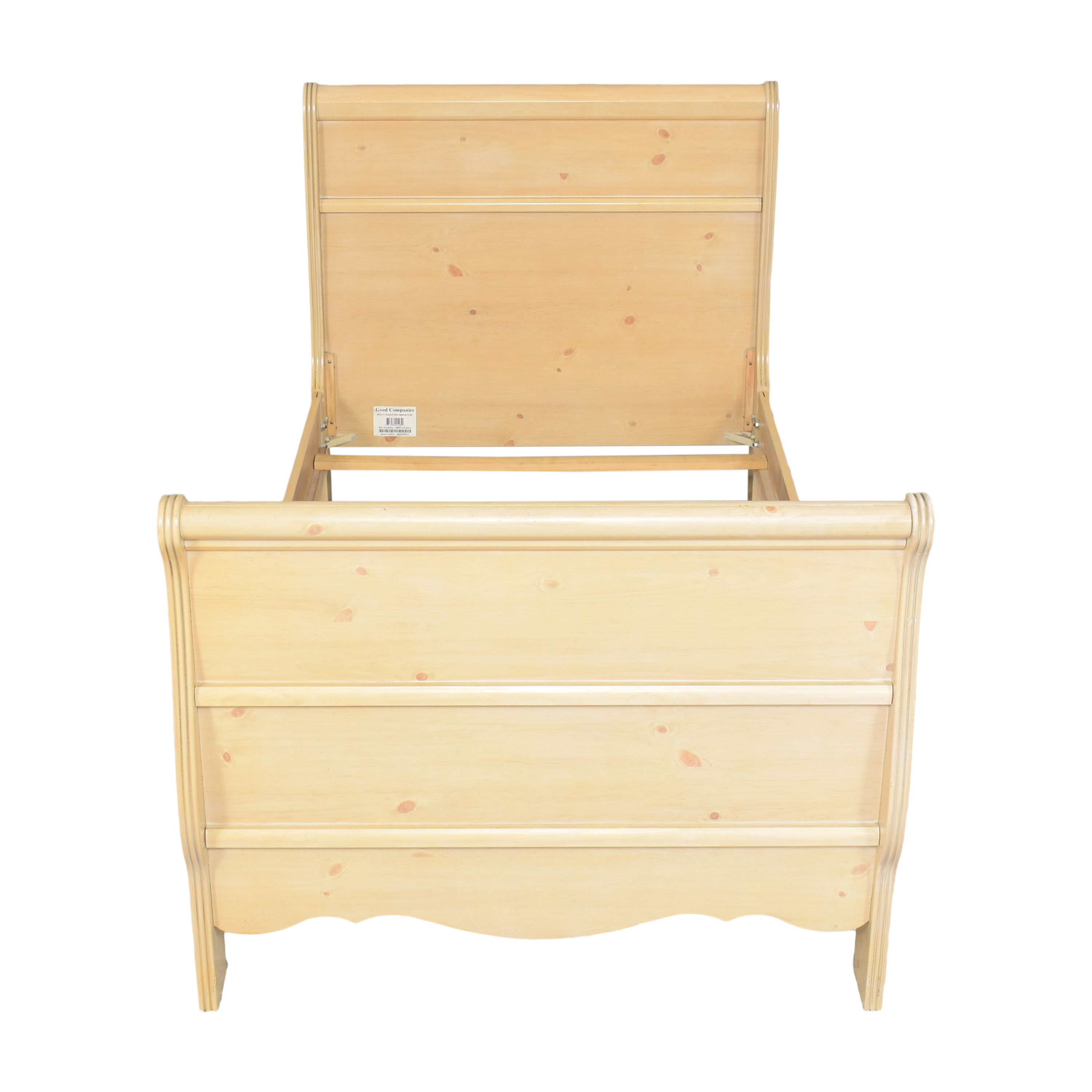 A-America Wood Furniture A-America Wood Furniture Twin Sleigh Bed Beds