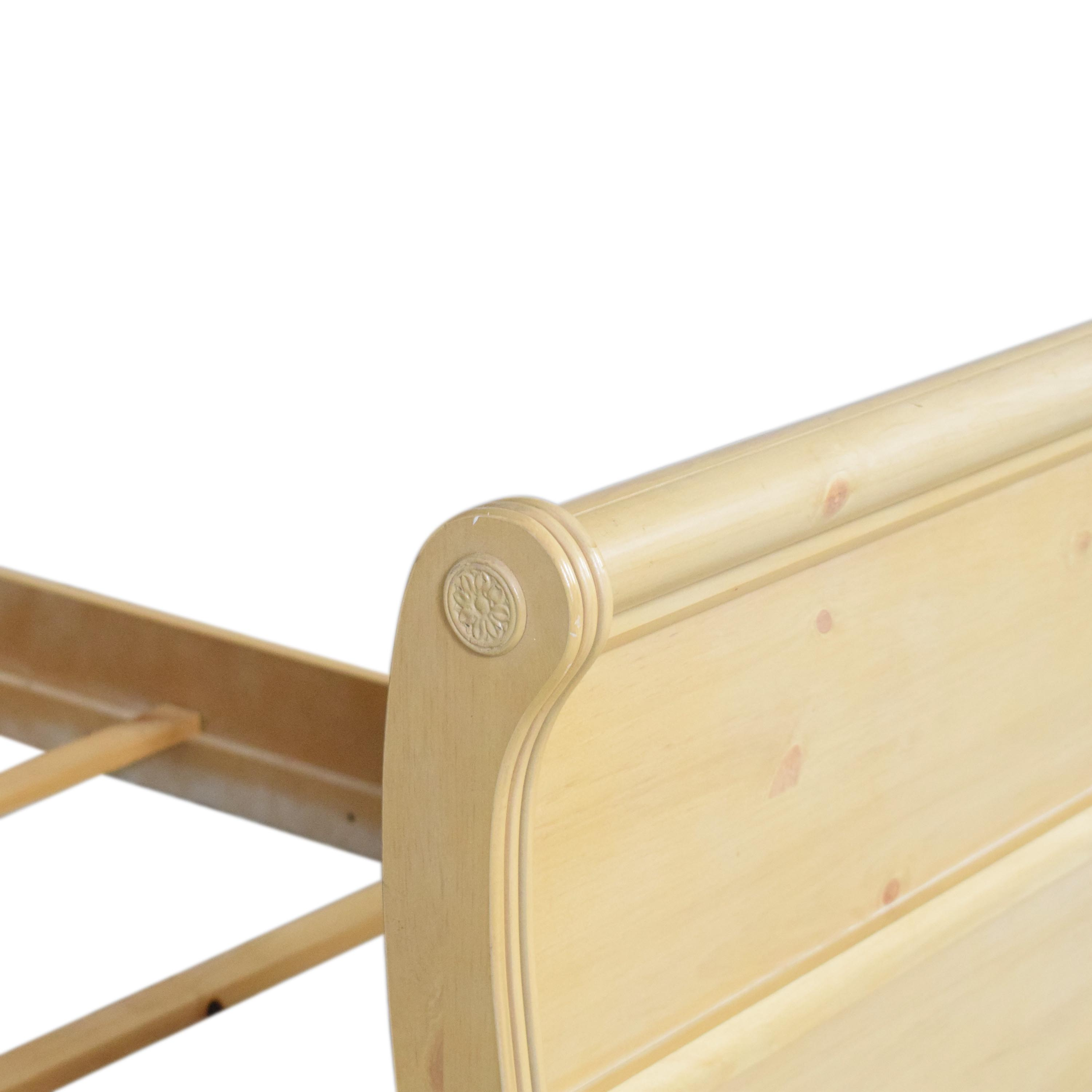 A-America Wood Furniture A-America Wood Furniture Twin Sleigh Bed on sale