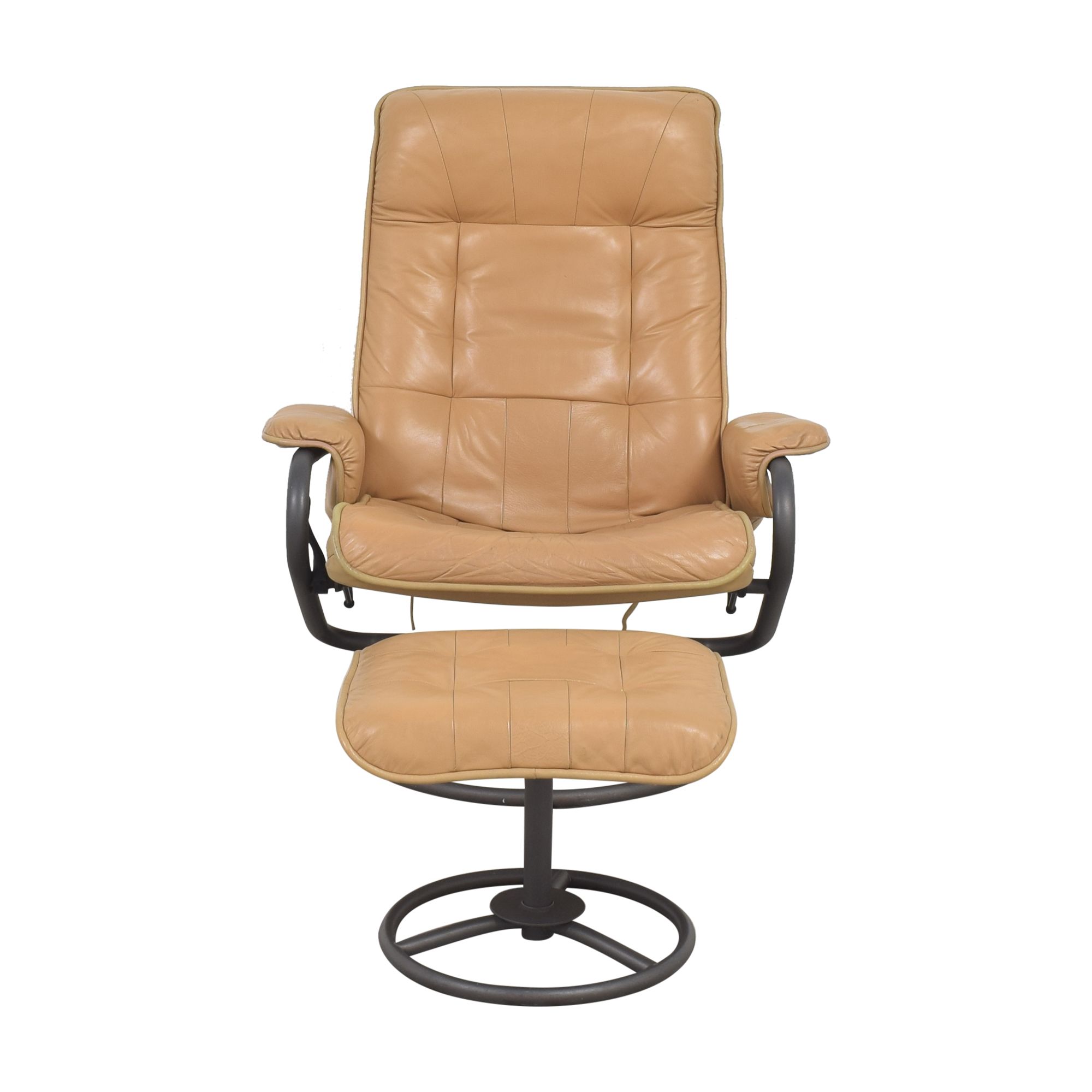 ChairWorks ChairWorks Recliner with Ottoman discount