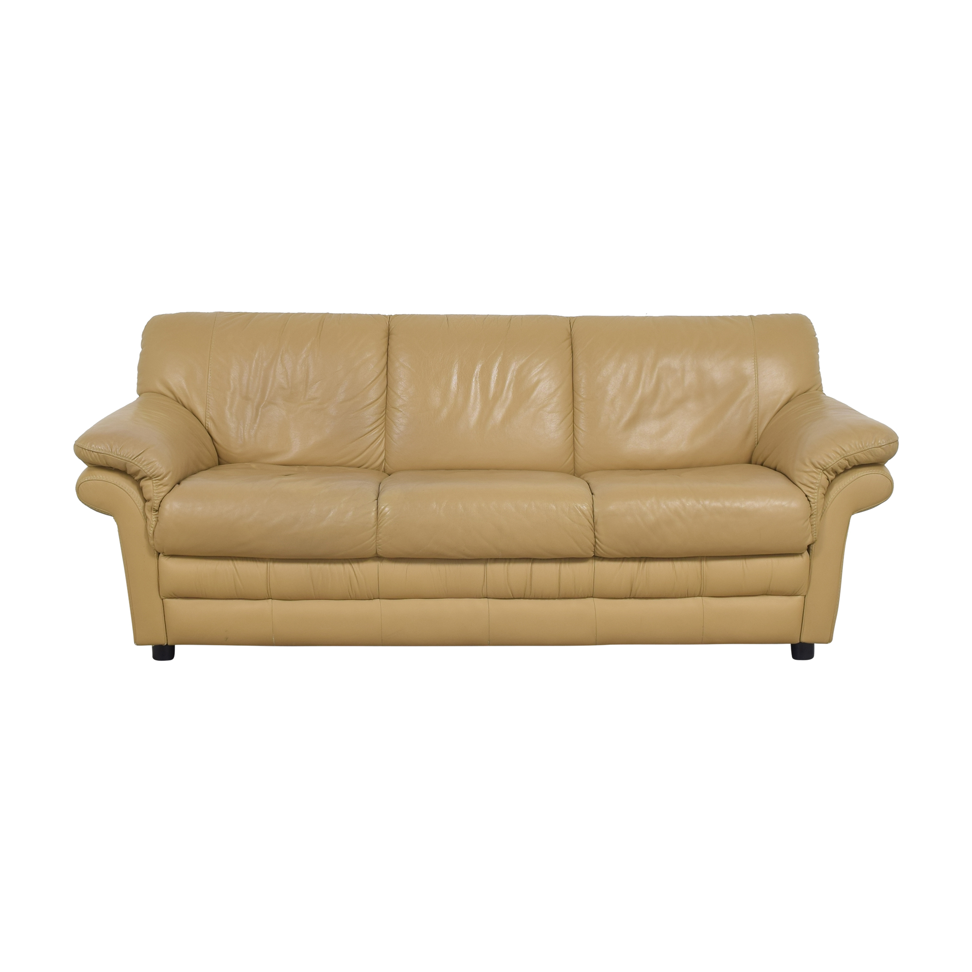 Three Cushion Sofa on sale