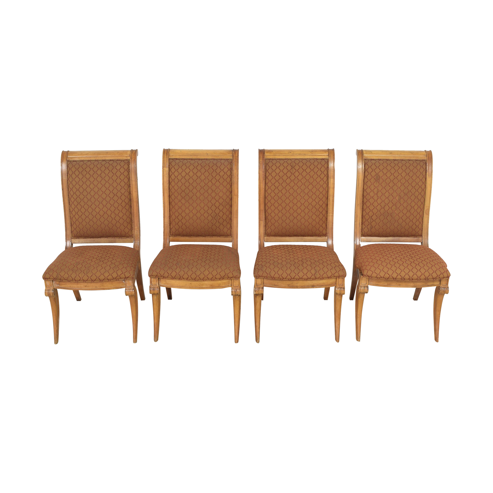 Century Furniture Upholstered Dining Chairs sale