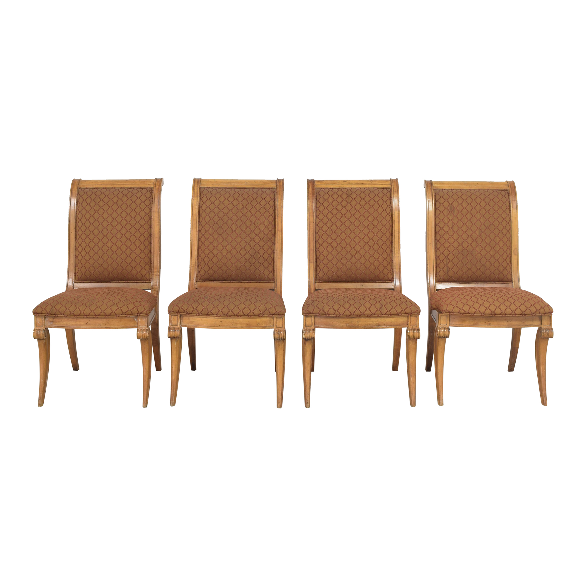 shop Century Furniture Upholstered Dining Chairs Century Furniture Dining Chairs