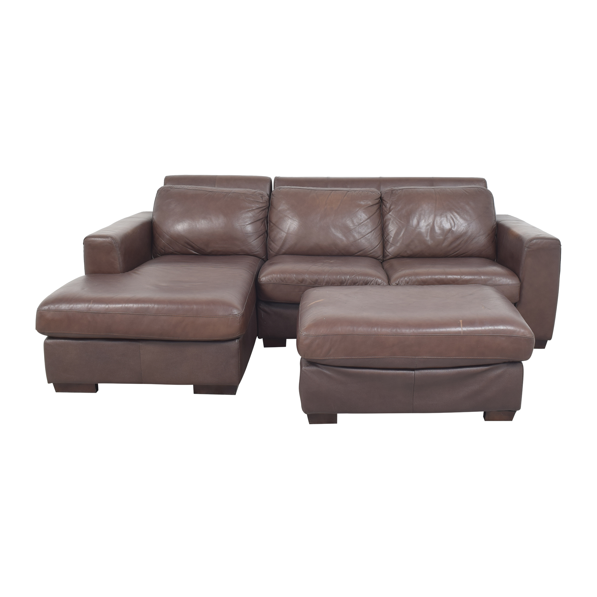 buy Costco Layla Sectional Sofa with Ottoman Costco