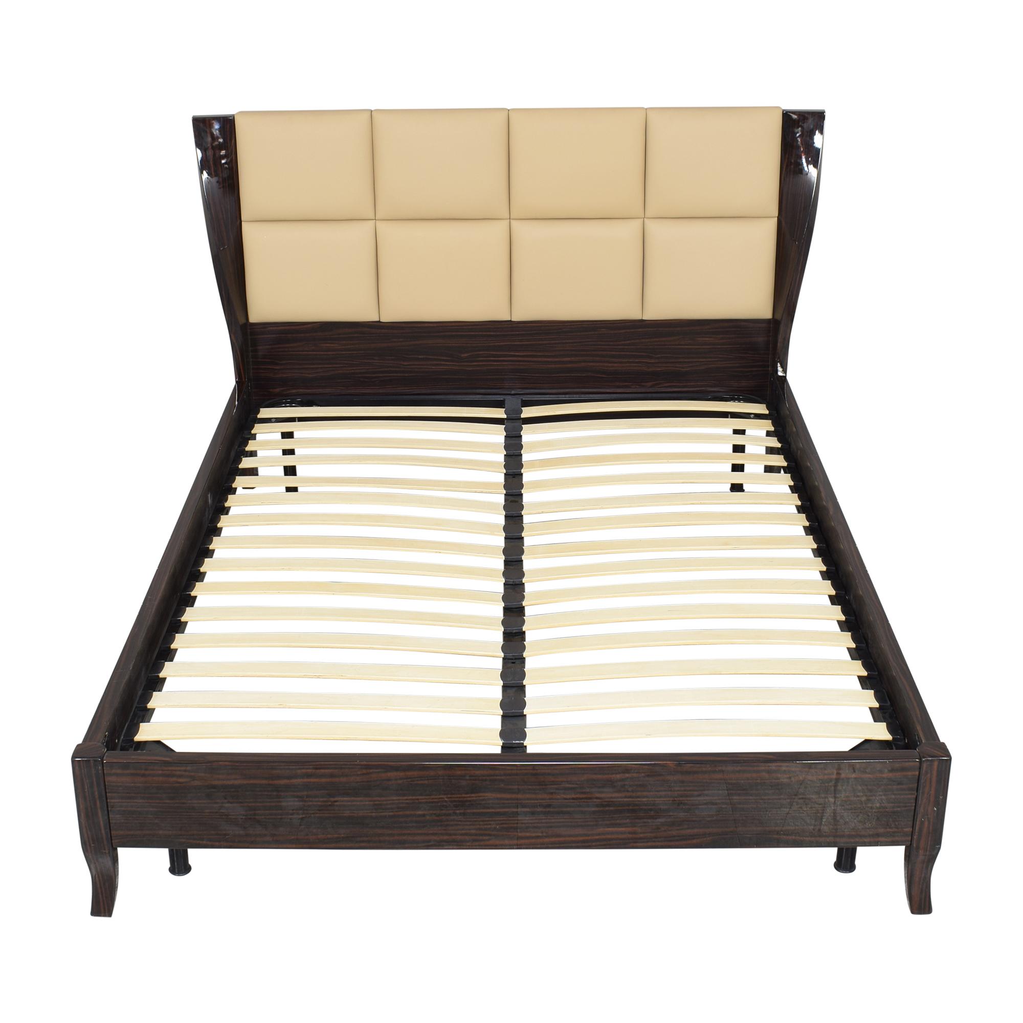 Modern Queen Platform Bed ct