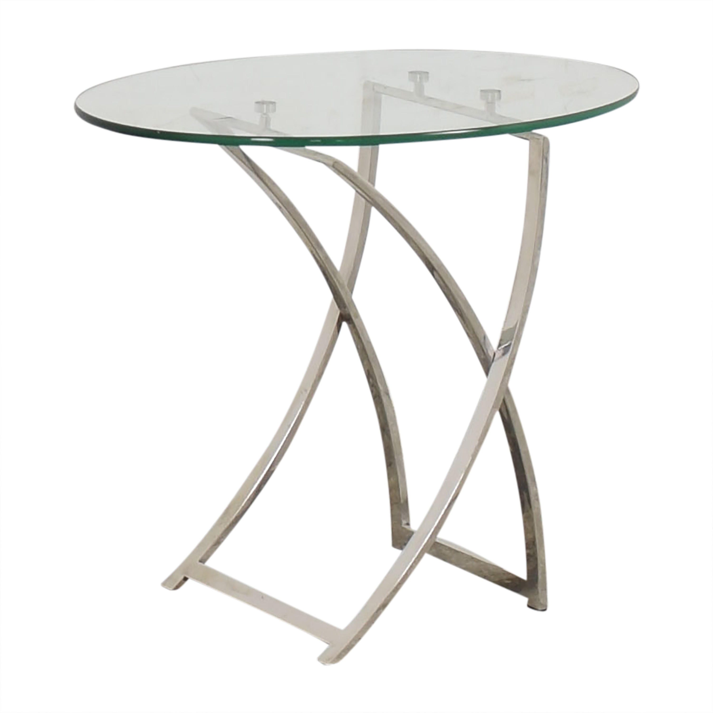 Bloomingdale's Oval Side Table / Tables