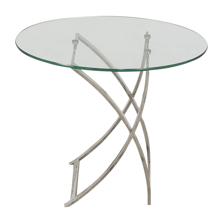 Bloomingdale's Bloomingdale's Oval Side Table