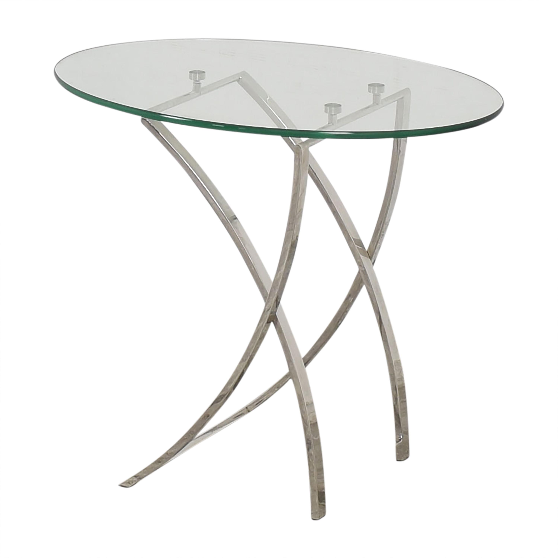 Bloomingdale's Bloomingdale's Oval Side Table Tables