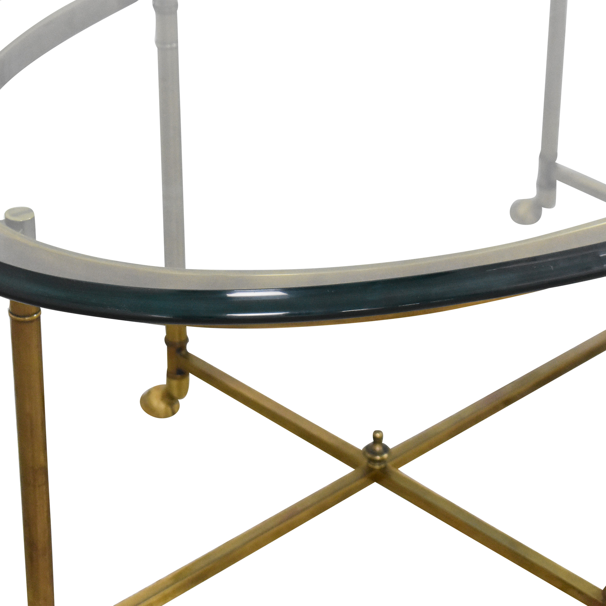 Stickley Furniture Stickley Furniture Oval Cocktail Table used