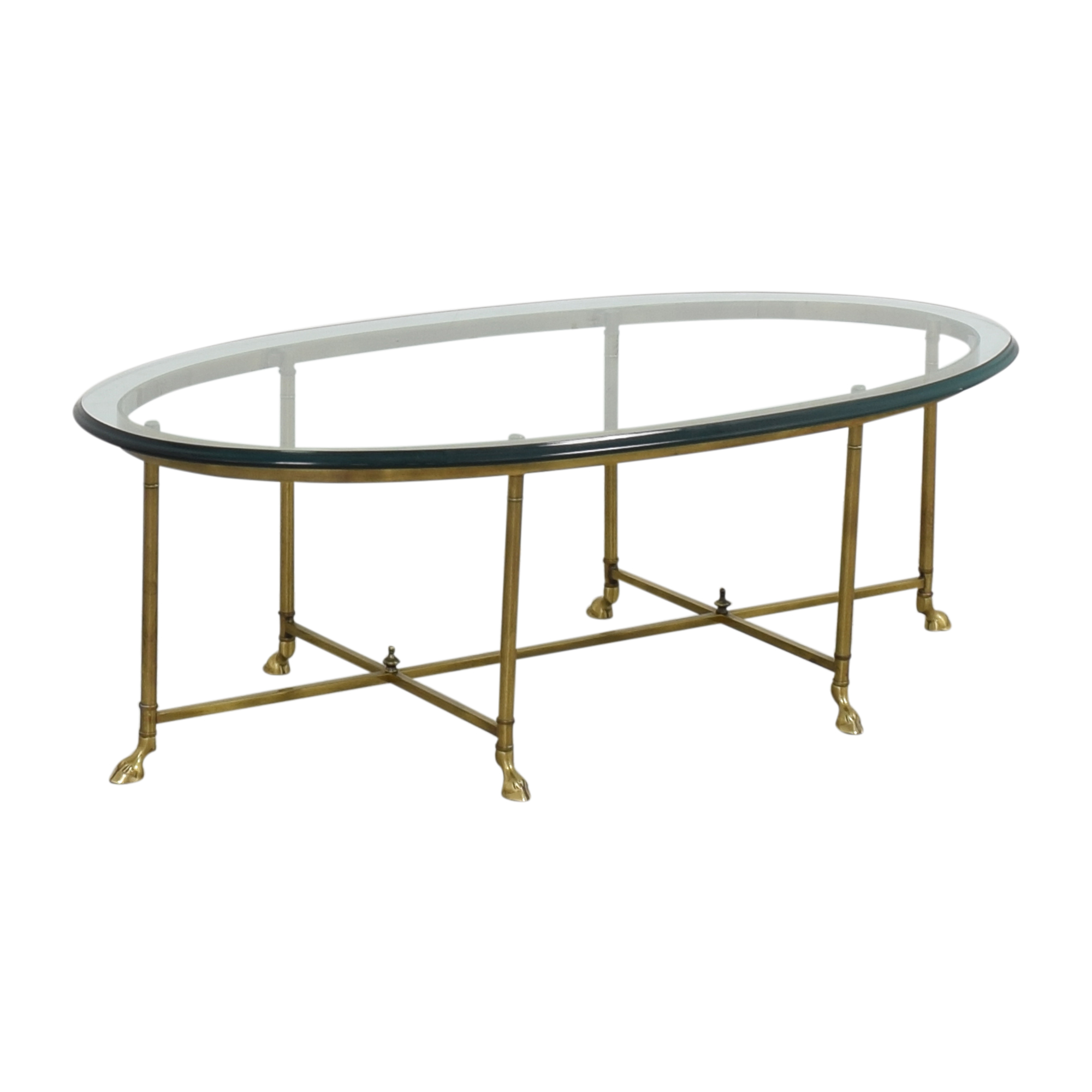 Stickley Furniture Stickley Furniture Oval Cocktail Table nyc