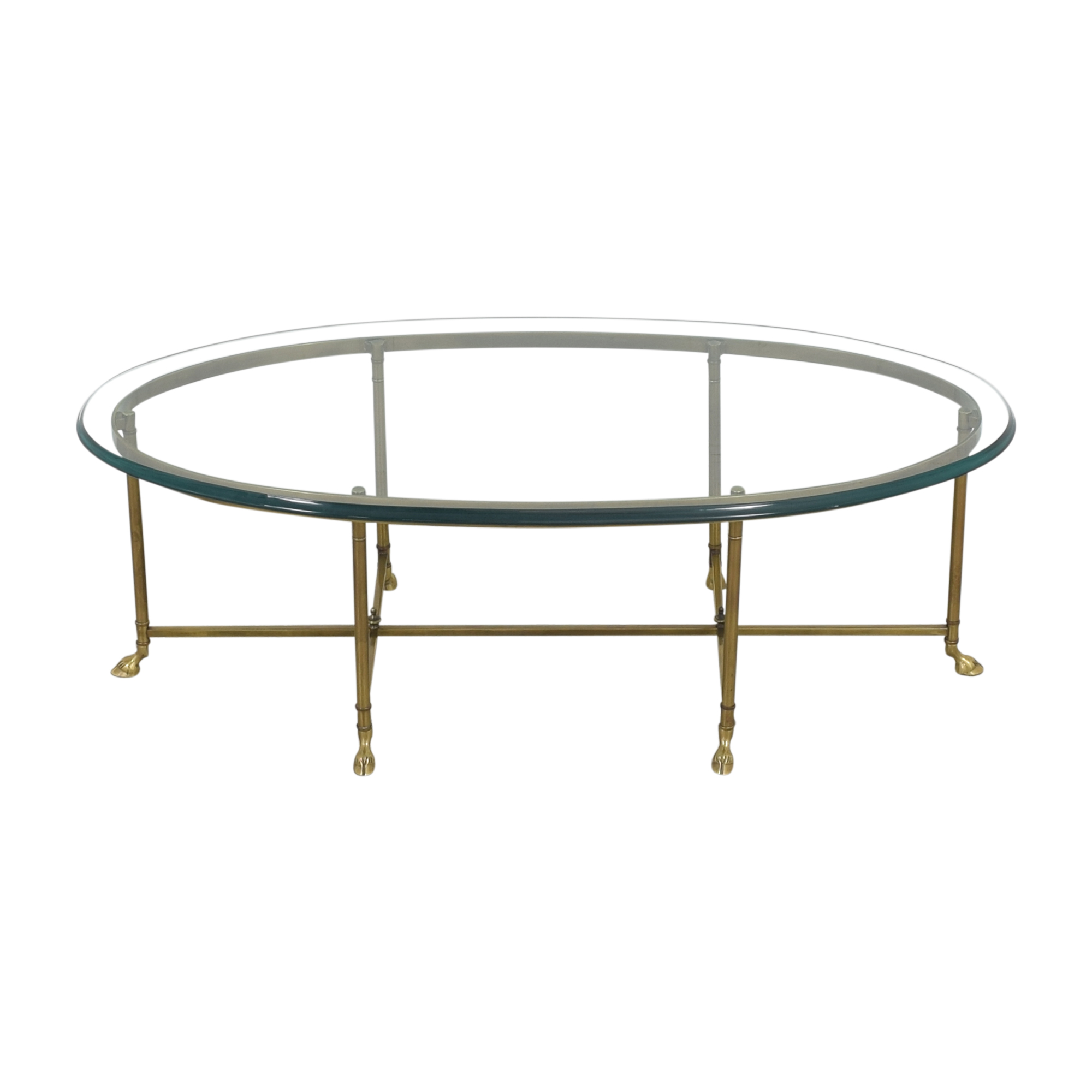 shop Stickley Furniture Oval Cocktail Table Stickley Furniture Coffee Tables